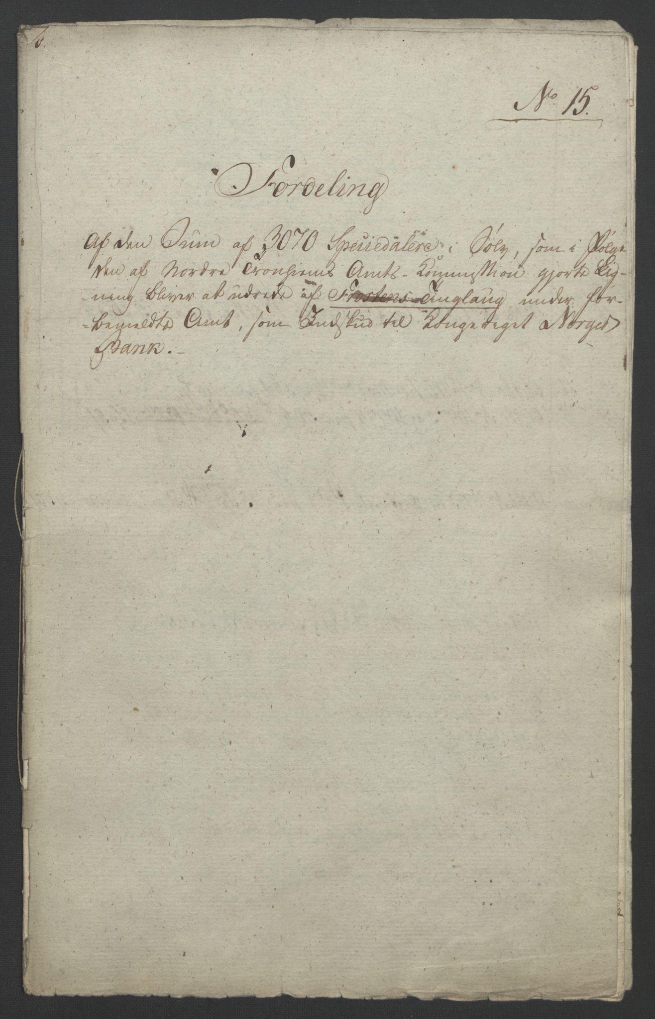 NOBA, Norges Bank/Sølvskatten 1816*, 1816-1822, s. 88