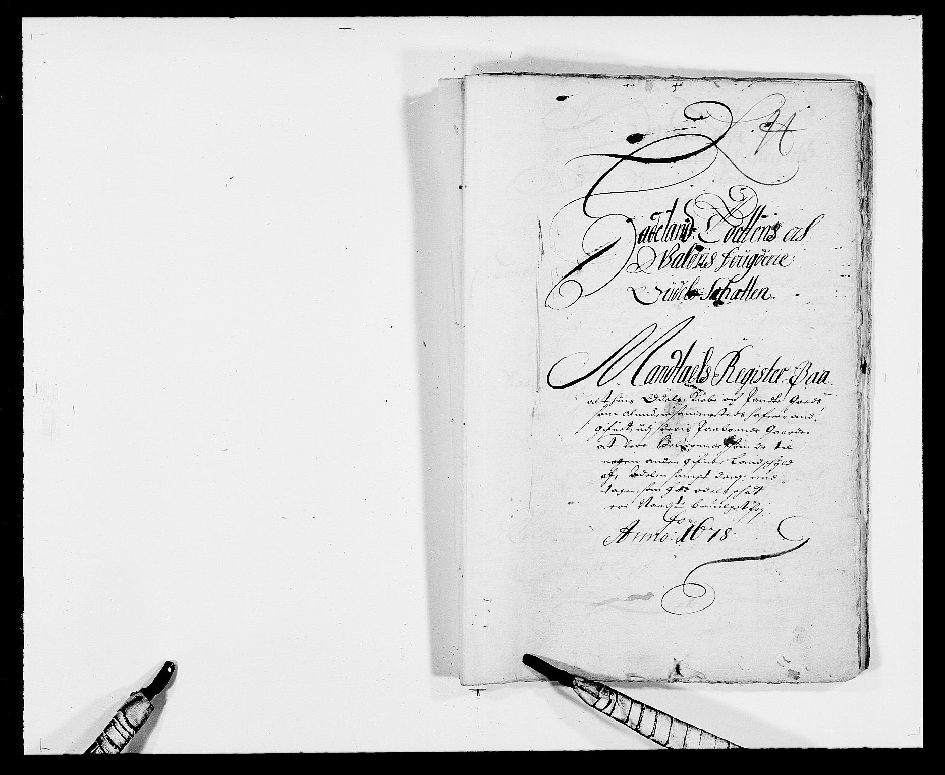 RA, Rentekammeret inntil 1814, Reviderte regnskaper, Fogderegnskap, R18/L1270: Fogderegnskap Hadeland, Toten og Valdres, 1678, s. 464