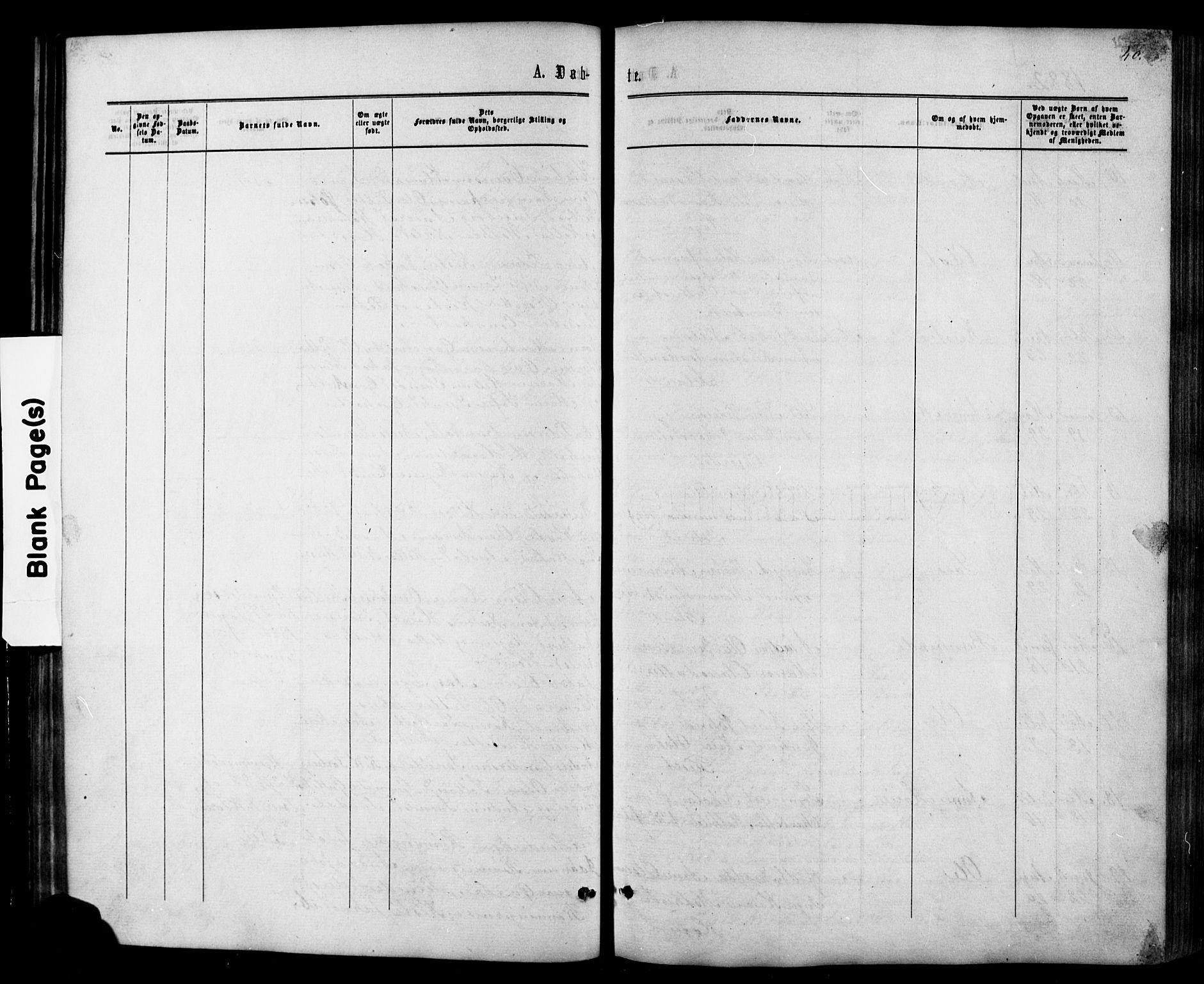 SAKO, Siljan kirkebøker, G/Ga/L0002: Klokkerbok nr. 2, 1864-1908, s. 40