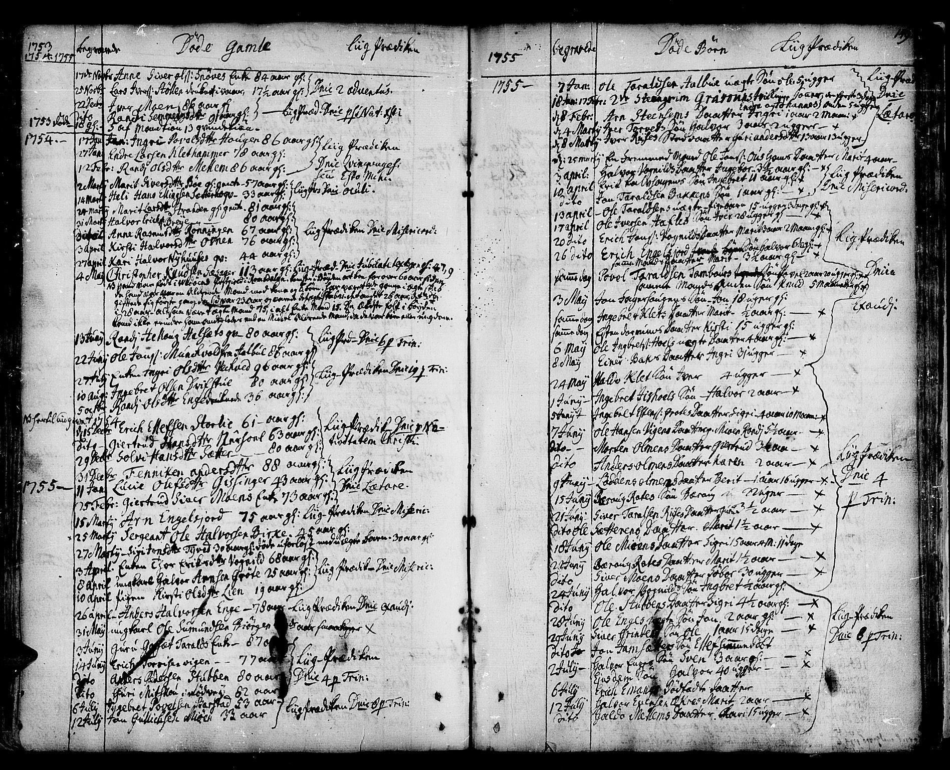 SAT, Ministerialprotokoller, klokkerbøker og fødselsregistre - Sør-Trøndelag, 678/L0891: Ministerialbok nr. 678A01, 1739-1780, s. 149