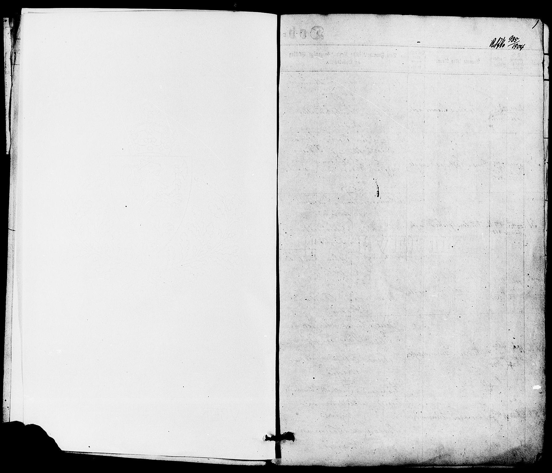 SAKO, Kragerø kirkebøker, G/Ga/L0005: Klokkerbok nr. 5, 1865-1881, s. 1