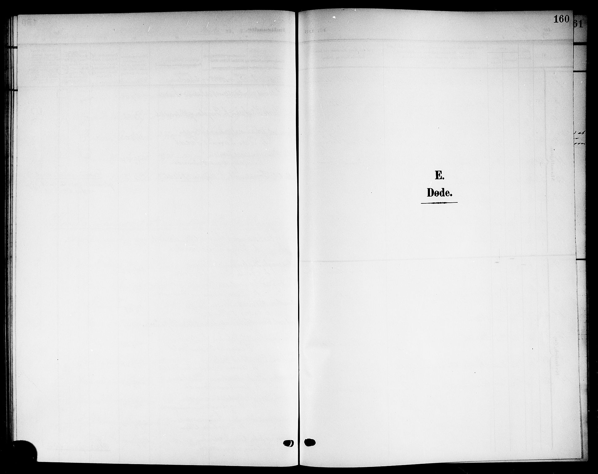 SAKO, Solum kirkebøker, G/Gb/L0005: Klokkerbok nr. II 5, 1905-1914, s. 160