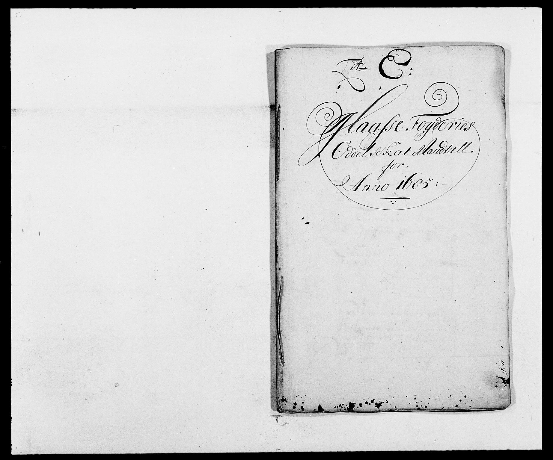 RA, Rentekammeret inntil 1814, Reviderte regnskaper, Fogderegnskap, R02/L0105: Fogderegnskap Moss og Verne kloster, 1685-1687, s. 61