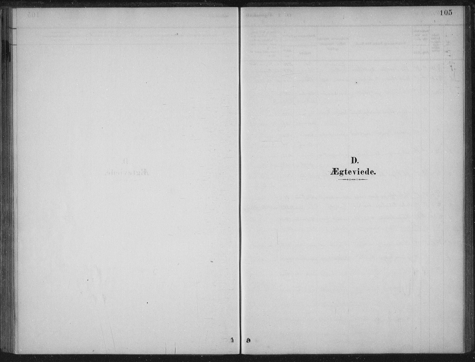 SAB, Lærdal Sokneprestembete, Ministerialbok nr. C  1, 1878-1911, s. 105