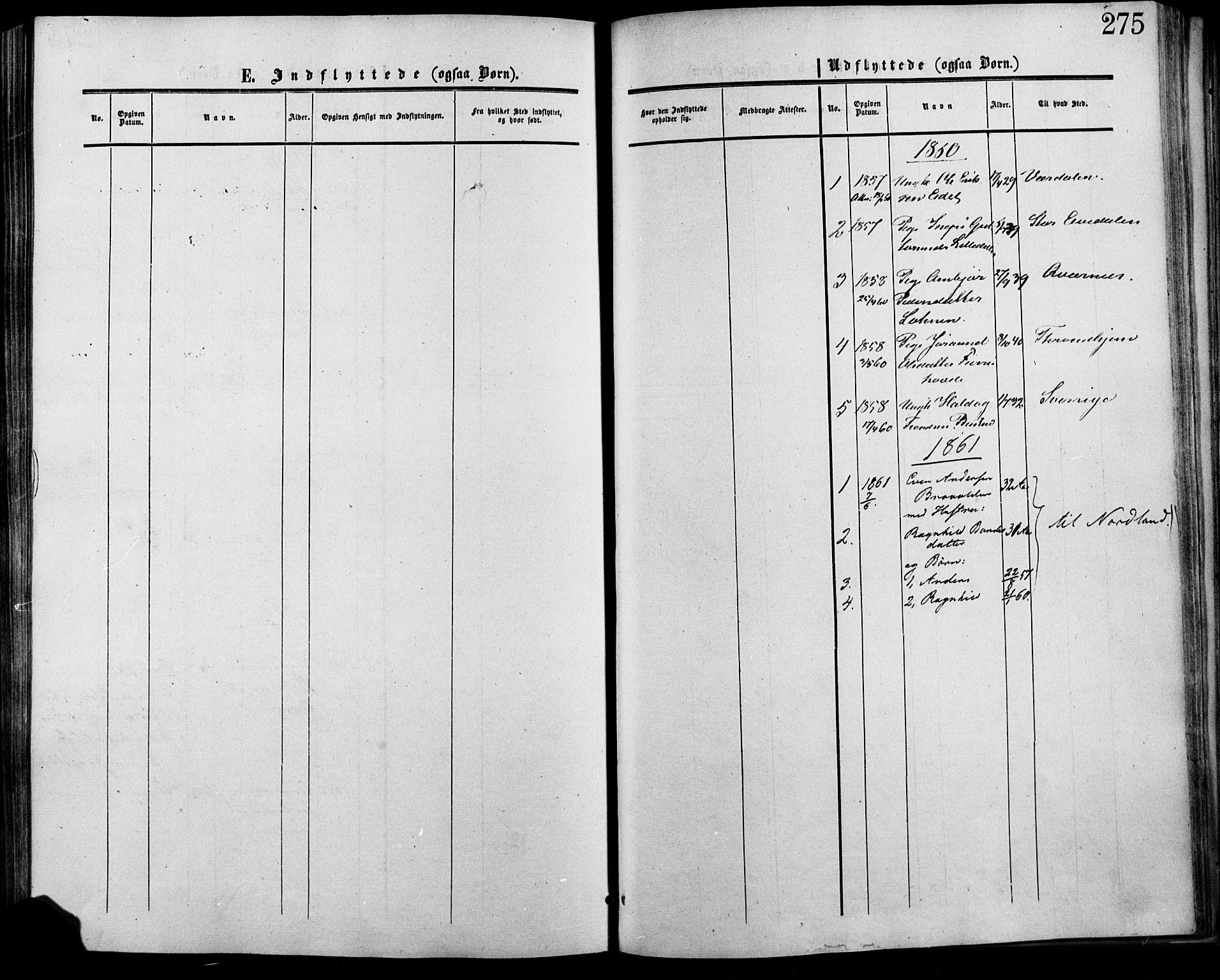 SAH, Lesja prestekontor, Ministerialbok nr. 7, 1854-1862, s. 275