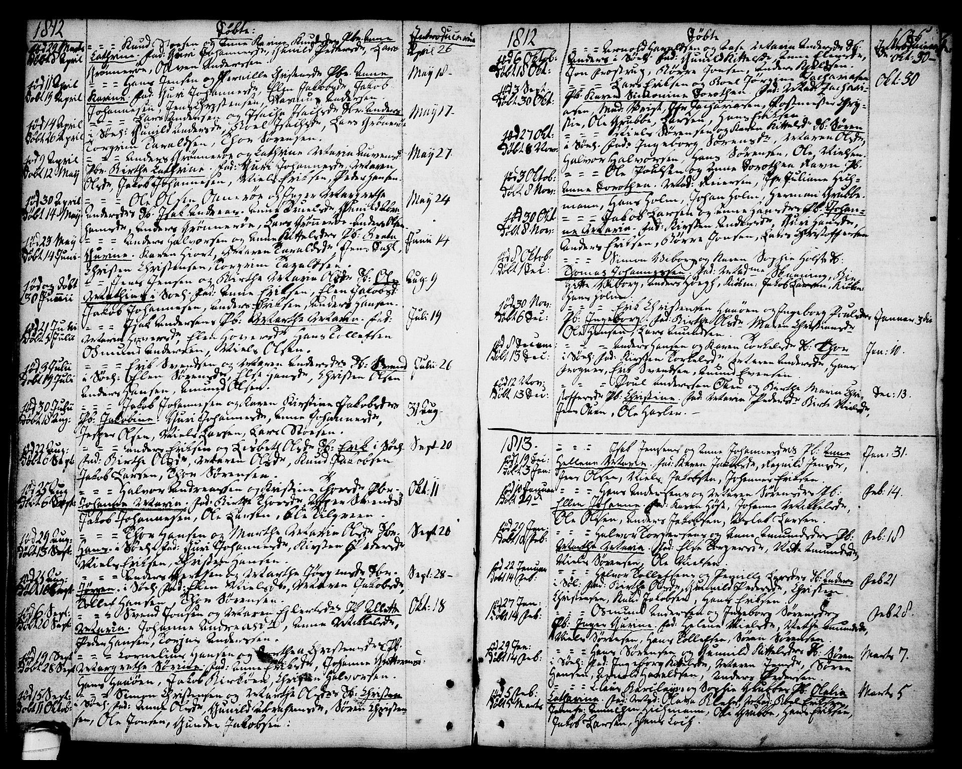 SAKO, Brevik kirkebøker, F/Fa/L0003: Ministerialbok nr. 3, 1764-1814, s. 105