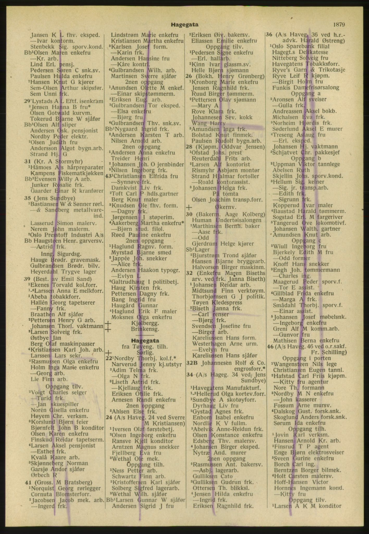 PUBL, Kristiania/Oslo adressebok, 1952, s. 1879