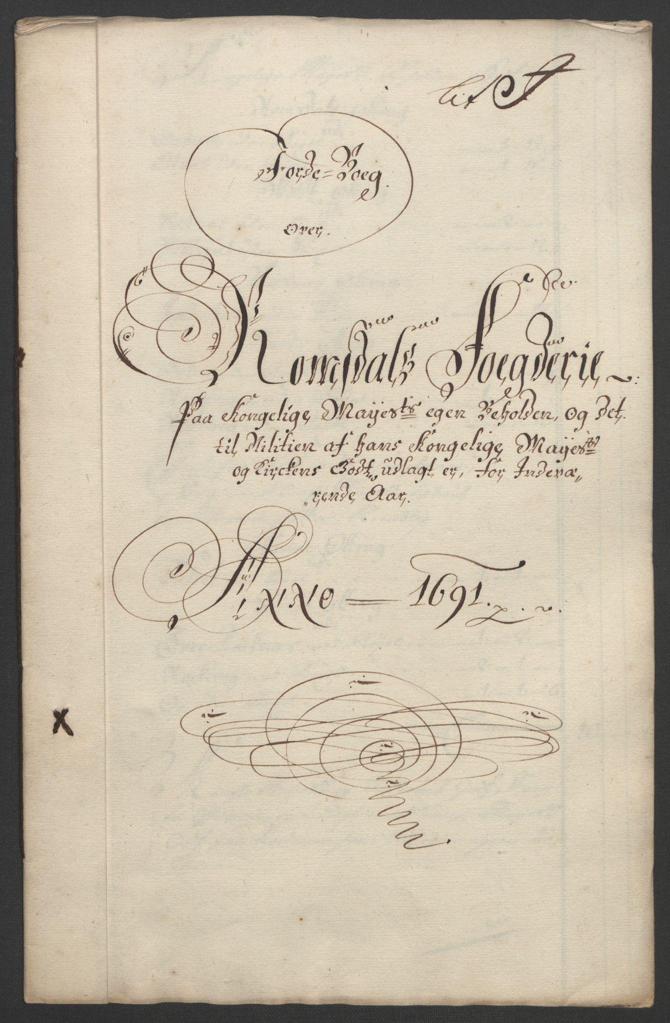 RA, Rentekammeret inntil 1814, Reviderte regnskaper, Fogderegnskap, R55/L3649: Fogderegnskap Romsdal, 1690-1691, s. 298