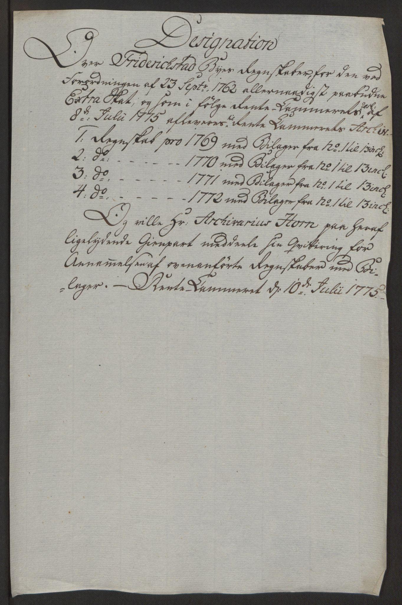 RA, Rentekammeret inntil 1814, Reviderte regnskaper, Byregnskaper, R/Rb/L0029: [B3] Kontribusjonsregnskap, 1762-1772, s. 450