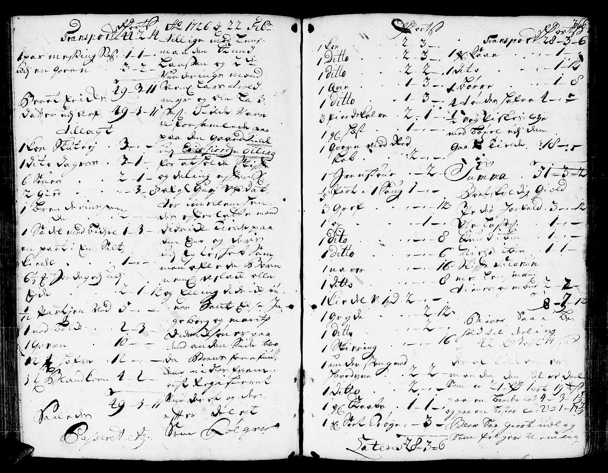 SAT, Romsdal sorenskriveri, 3/3A/L0006: Skifteprotokoll, 1718-1730, s. 365b-366a