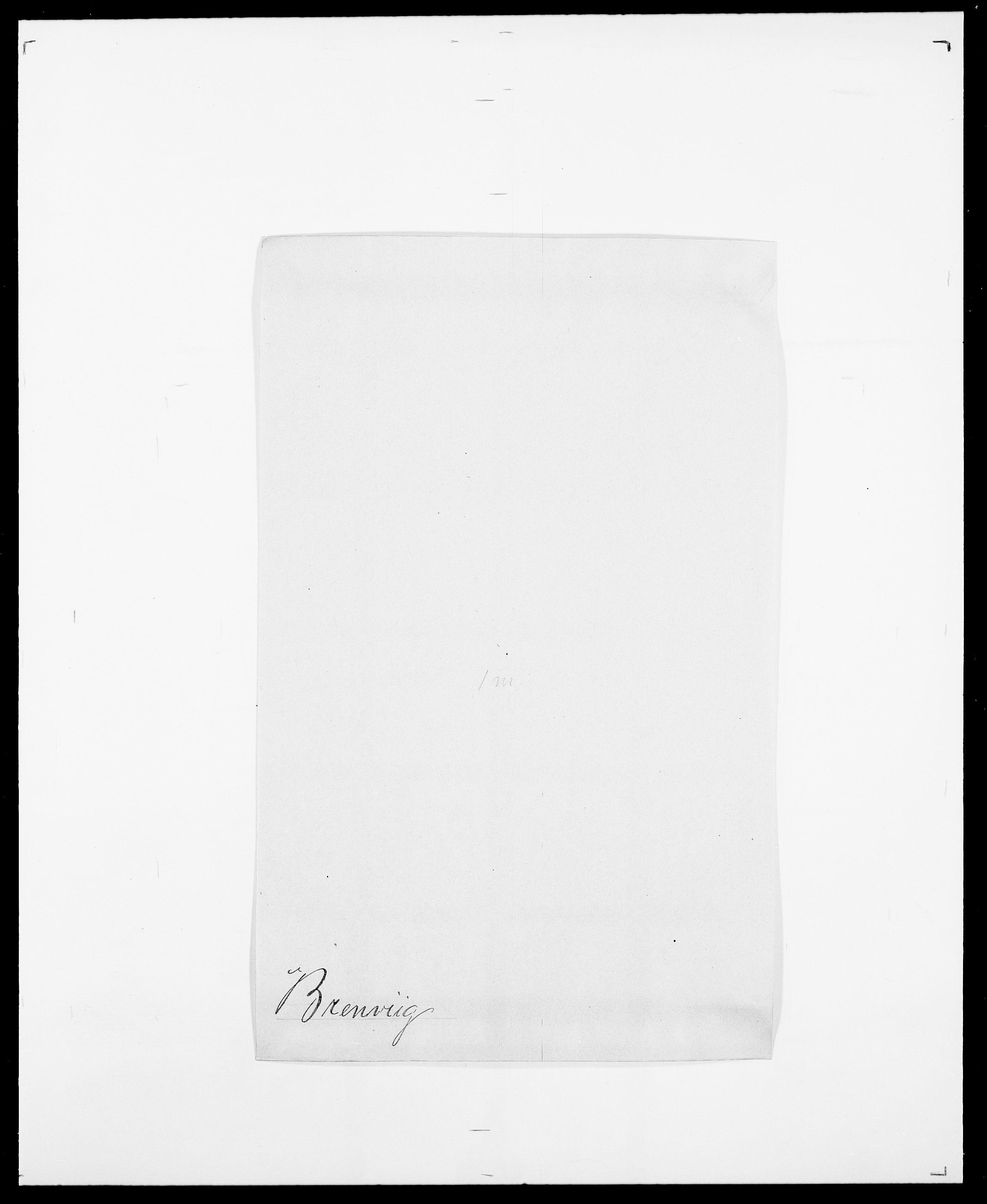 SAO, Delgobe, Charles Antoine - samling, D/Da/L0006: Brambani - Brønø, s. 321
