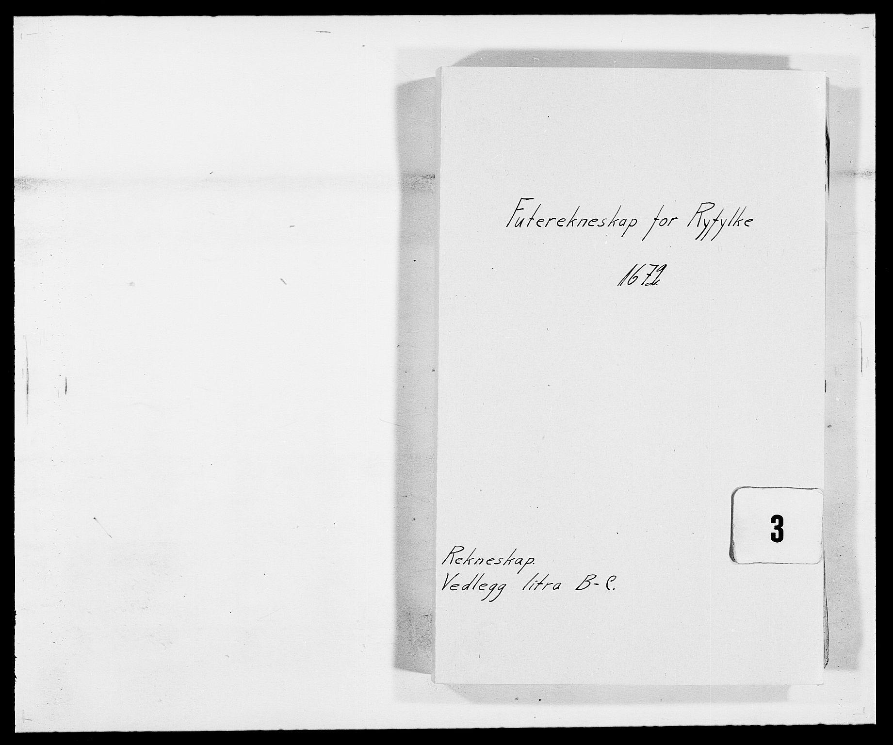 RA, Rentekammeret inntil 1814, Reviderte regnskaper, Fogderegnskap, R47/L2844: Fogderegnskap Ryfylke, 1672-1673, s. 1