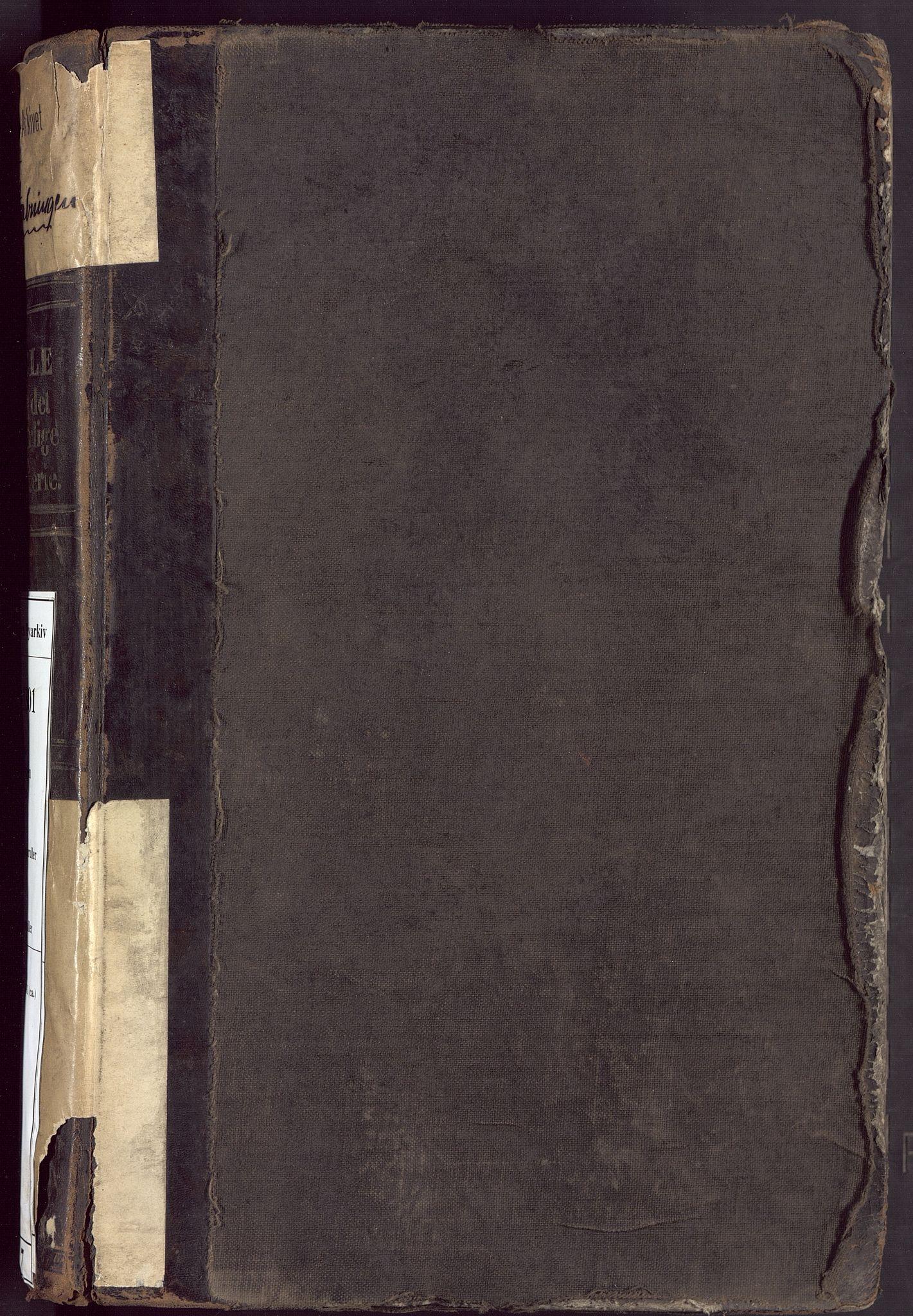 BBA, Borgervæpningen i Bergen, G/Gd/L0007: Infanteriet, 1850-1881