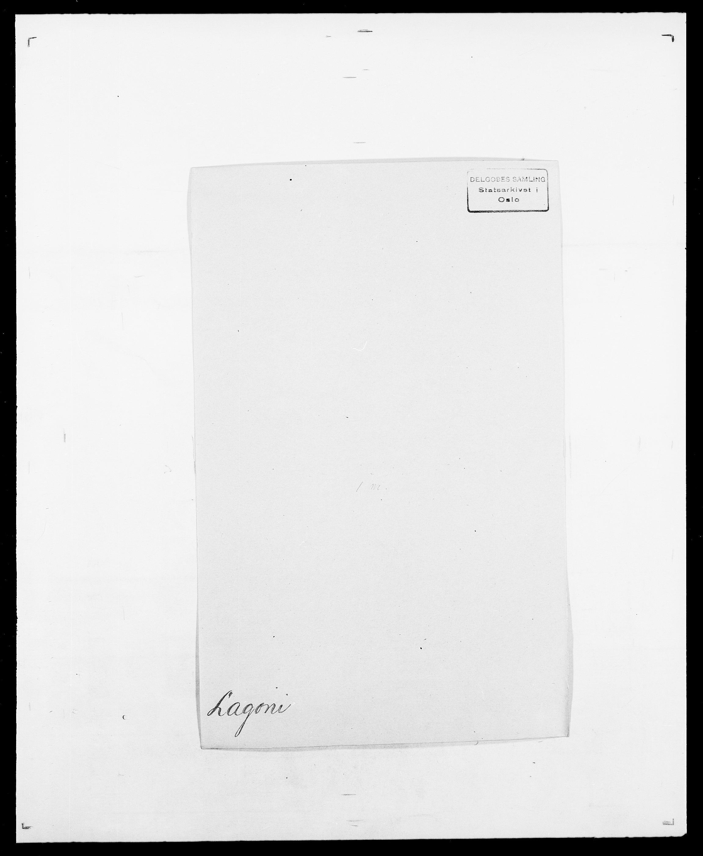 SAO, Delgobe, Charles Antoine - samling, D/Da/L0022: Krog - Lasteen, s. 398