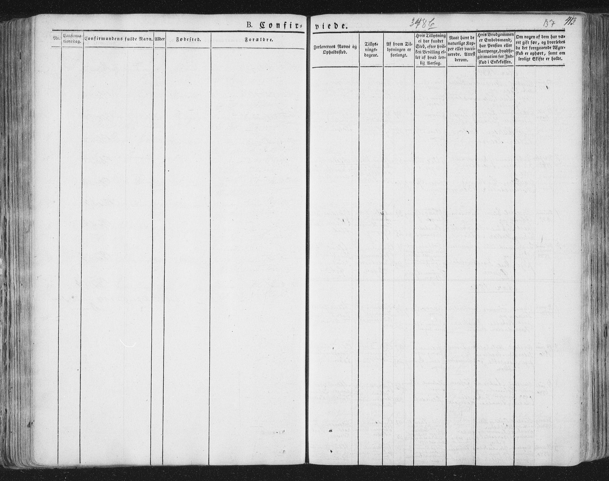 SAT, Ministerialprotokoller, klokkerbøker og fødselsregistre - Nord-Trøndelag, 758/L0513: Ministerialbok nr. 758A02 /1, 1839-1868, s. 137