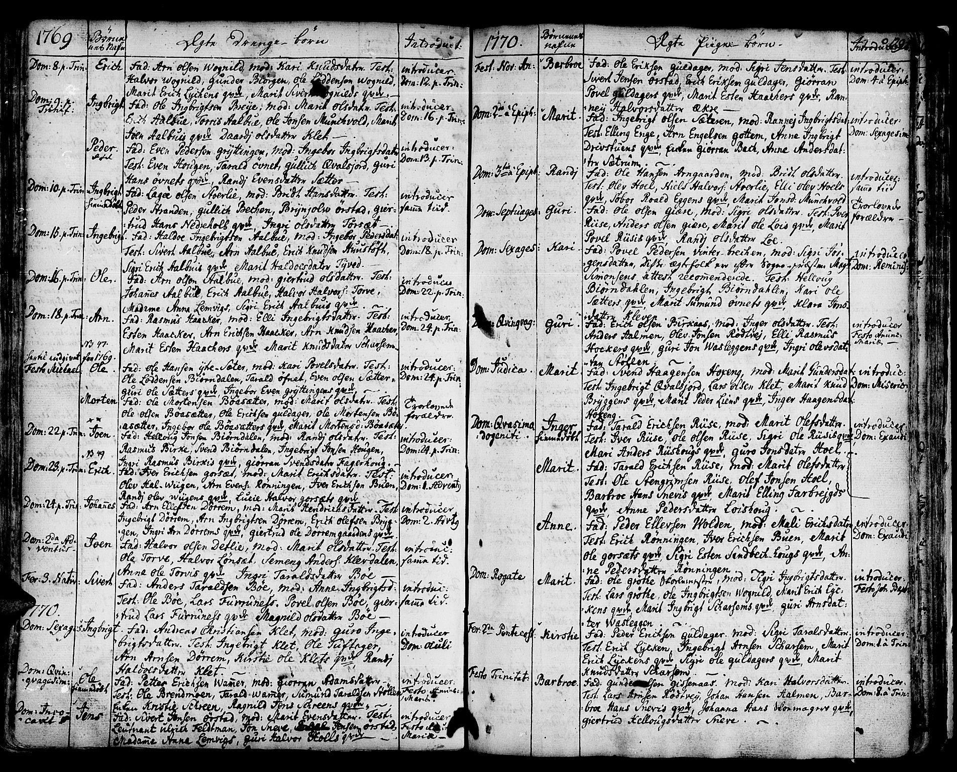 SAT, Ministerialprotokoller, klokkerbøker og fødselsregistre - Sør-Trøndelag, 678/L0891: Ministerialbok nr. 678A01, 1739-1780, s. 129