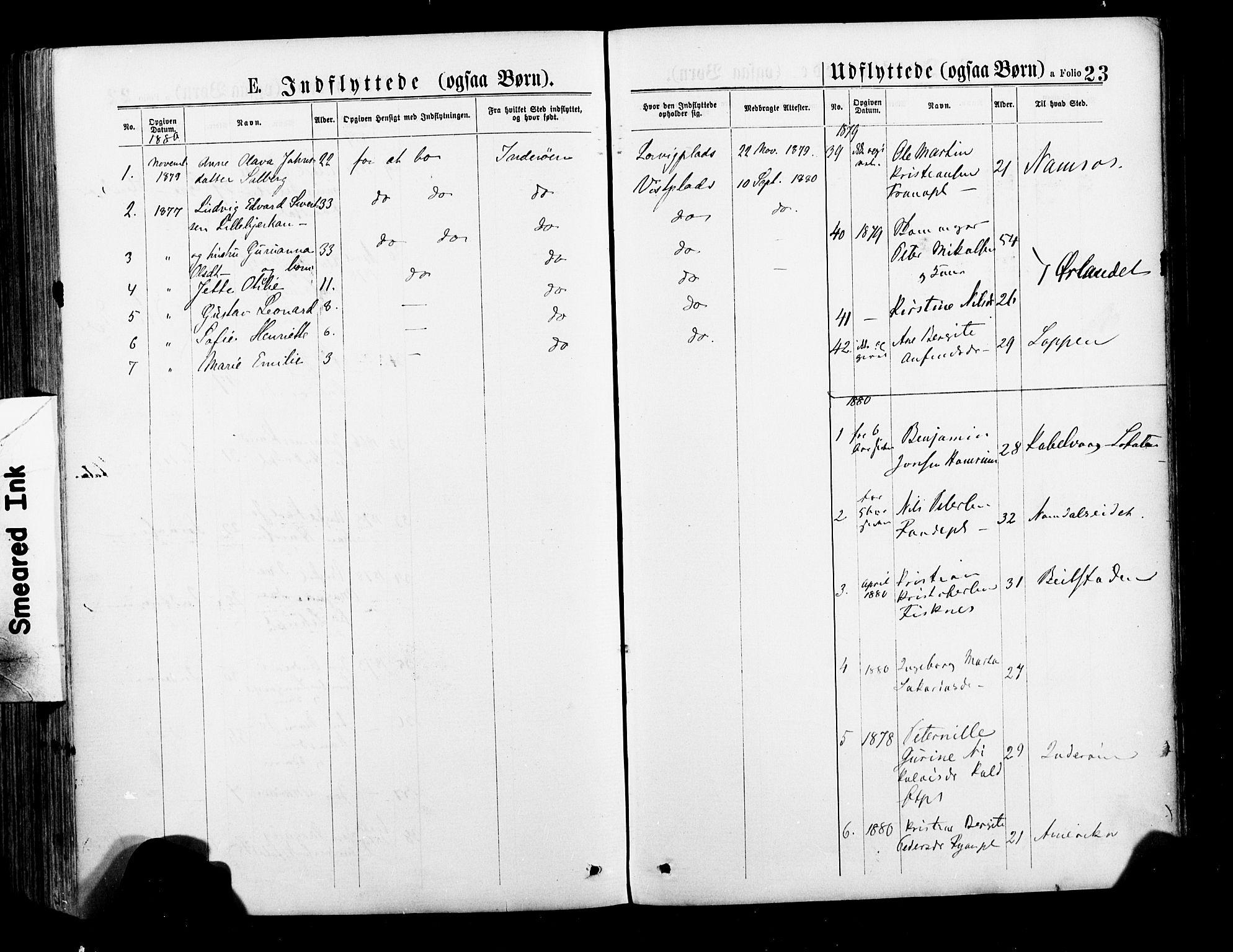 SAT, Ministerialprotokoller, klokkerbøker og fødselsregistre - Nord-Trøndelag, 735/L0348: Ministerialbok nr. 735A09 /1, 1873-1883, s. 23