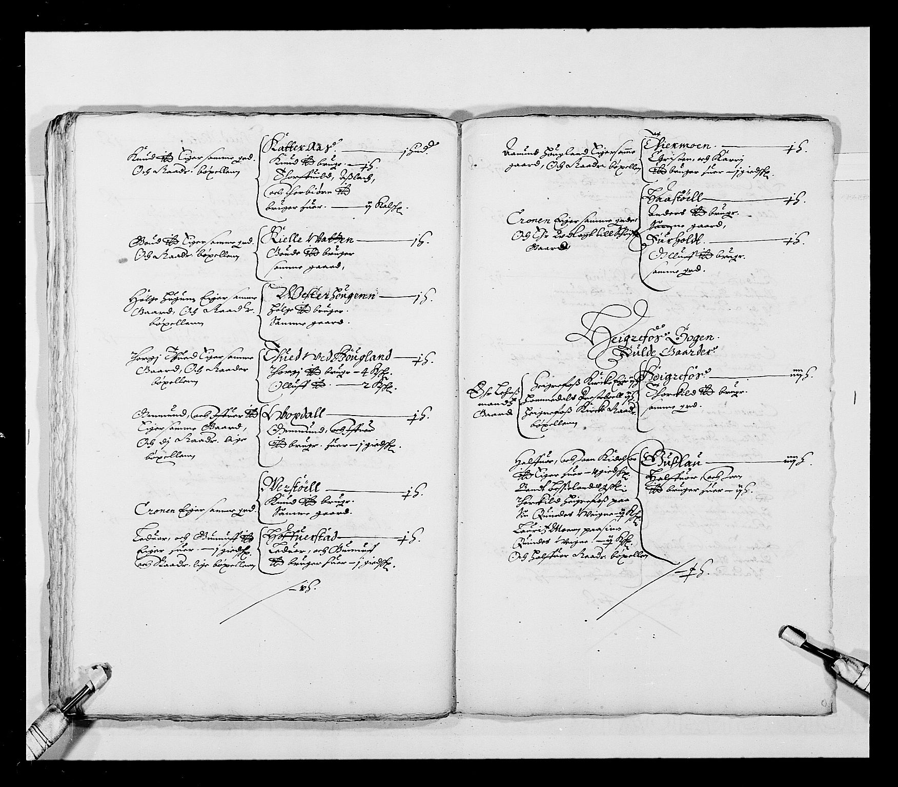 RA, Stattholderembetet 1572-1771, Ek/L0023: Jordebøker 1633-1658:, 1648-1649, s. 46