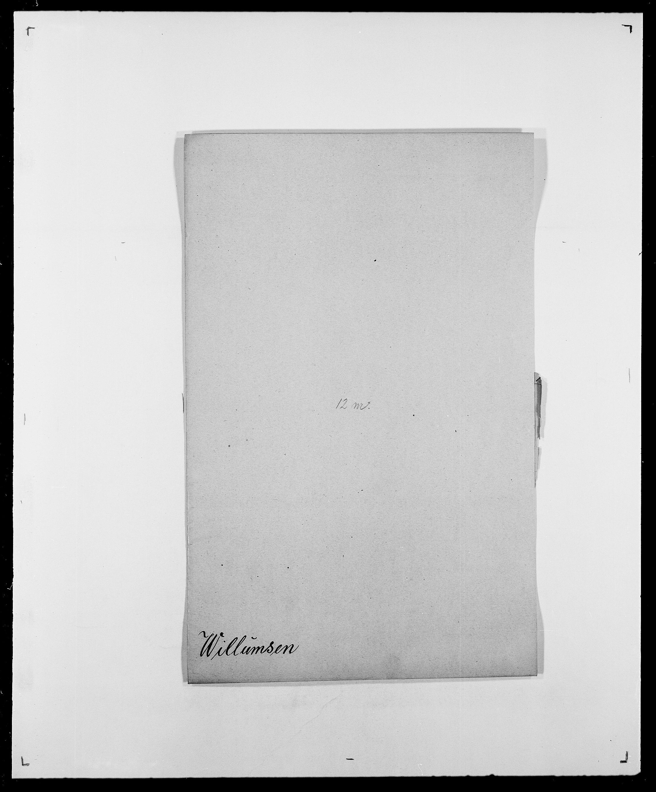 SAO, Delgobe, Charles Antoine - samling, D/Da/L0042: Vilain - Wulf, Wulff, se også Wolf, s. 90