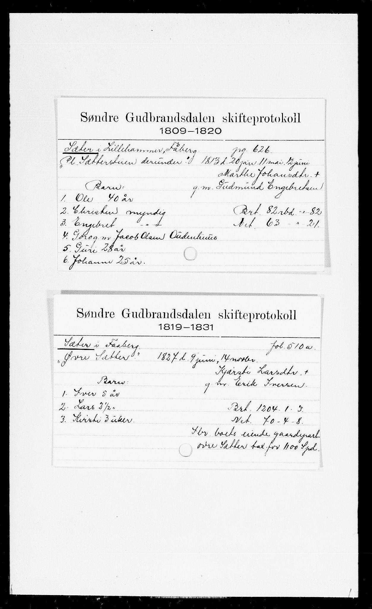 SAH, Sør-Gudbrandsdal tingrett, J, 1658-1885, s. 16507