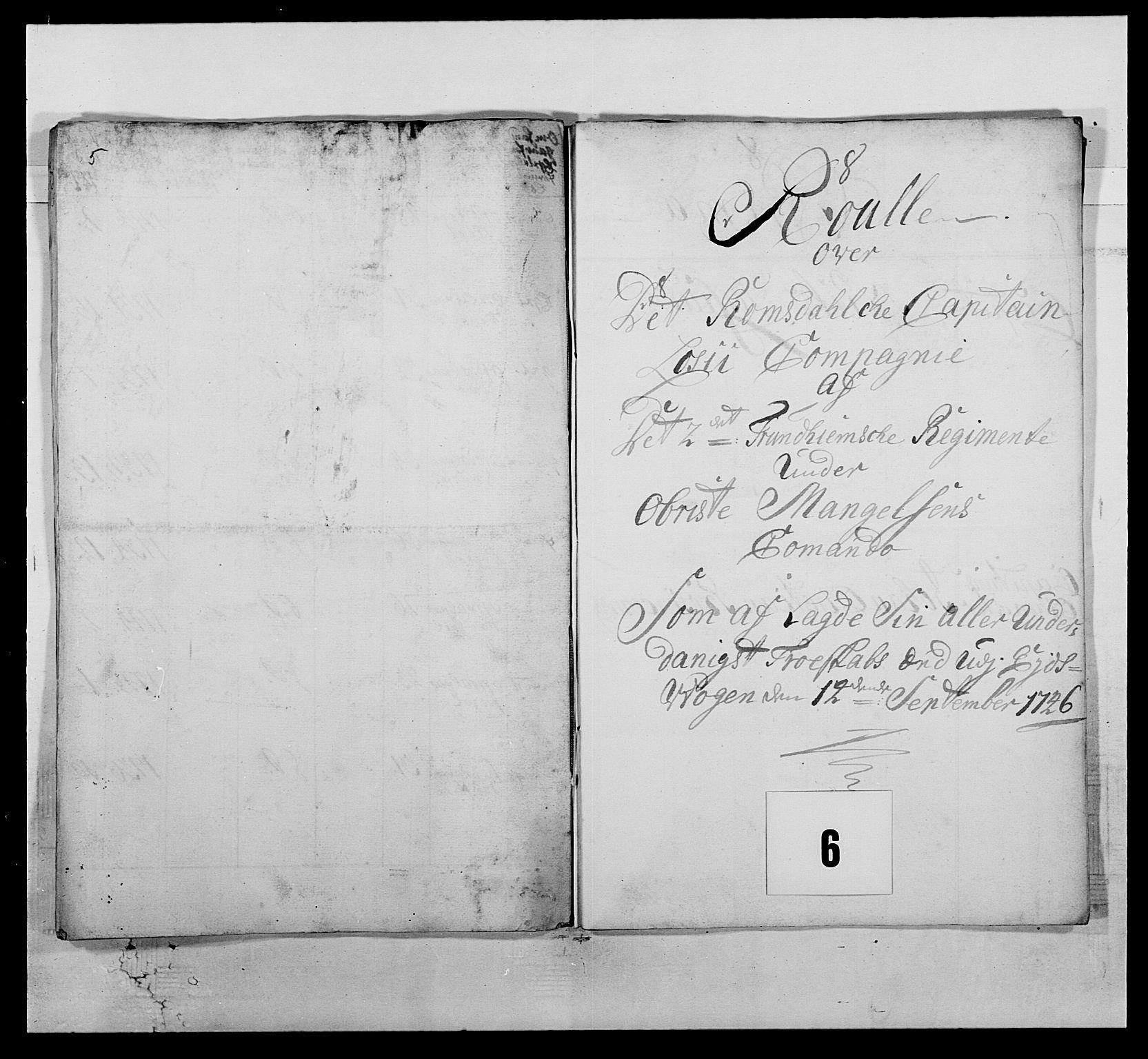 RA, Kommanderende general (KG I) med Det norske krigsdirektorium, E/Ea/L0512: 2. Trondheimske regiment, 1746-1749, s. 92