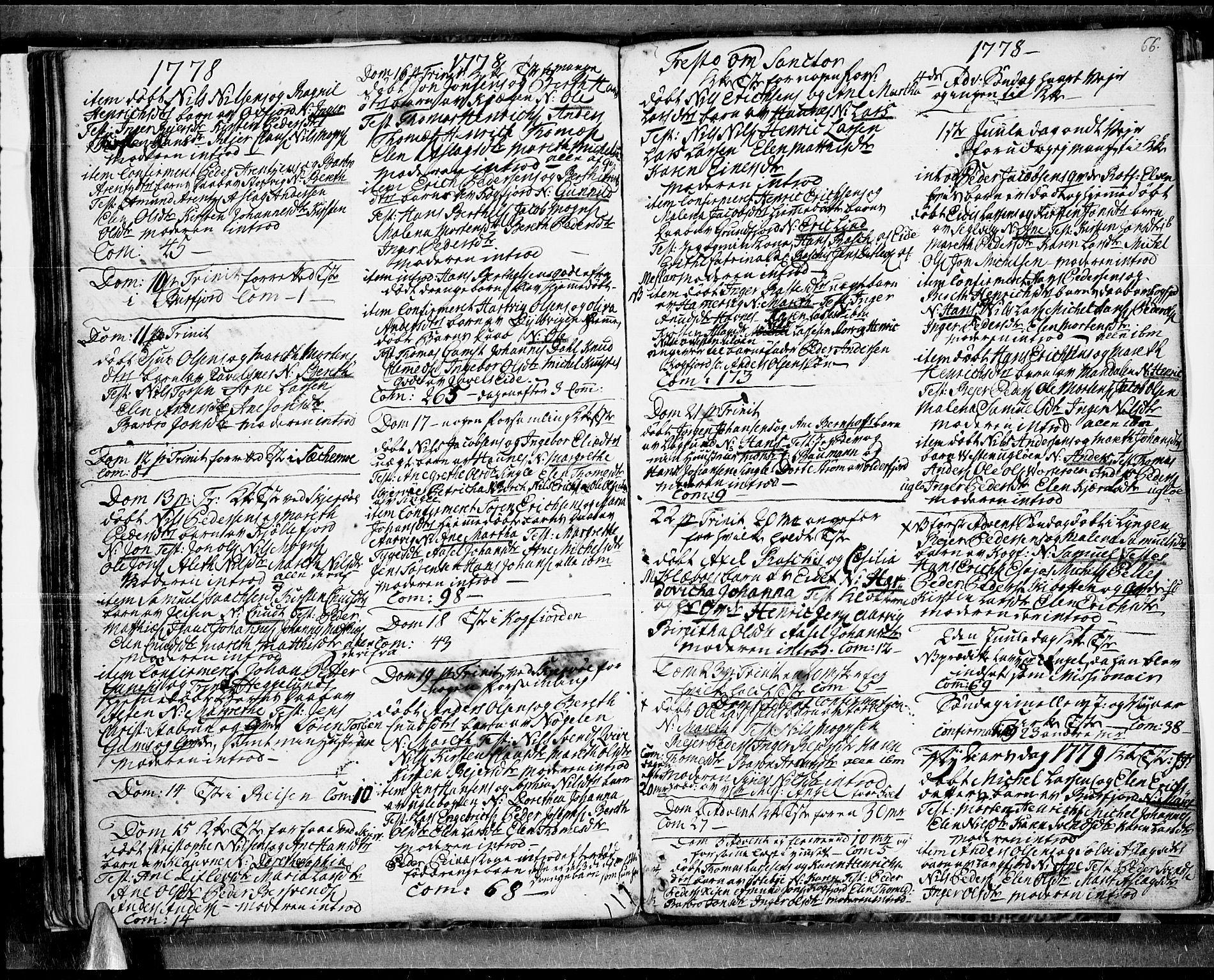 SATØ, Skjervøy sokneprestkontor, H/Ha/Haa/L0001kirke: Ministerialbok nr. 1, 1748-1780, s. 66