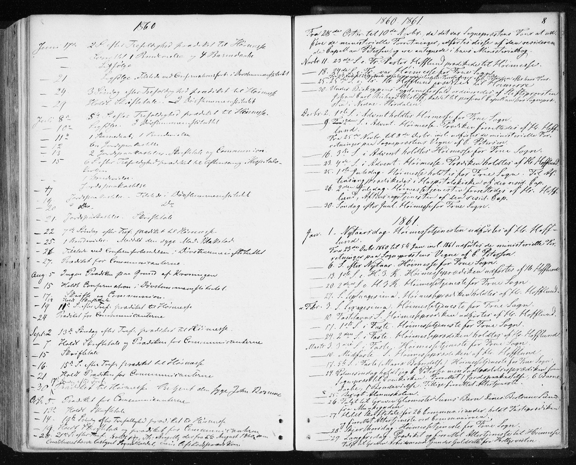 SAT, Ministerialprotokoller, klokkerbøker og fødselsregistre - Sør-Trøndelag, 601/L0053: Ministerialbok nr. 601A21, 1857-1865, s. 8