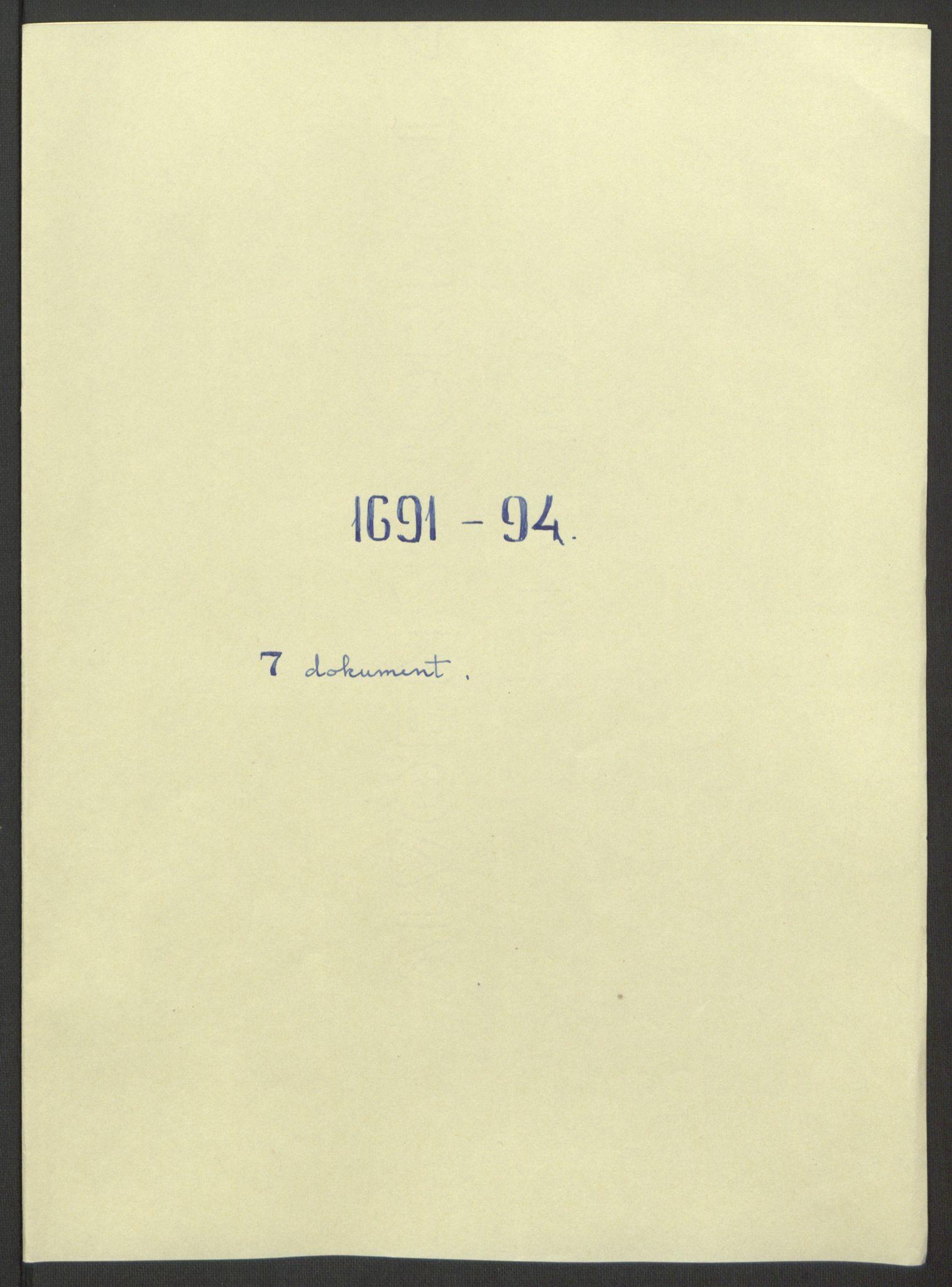 RA, Rentekammeret inntil 1814, Reviderte regnskaper, Fogderegnskap, R69/L4851: Fogderegnskap Finnmark/Vardøhus, 1691-1700, s. 115