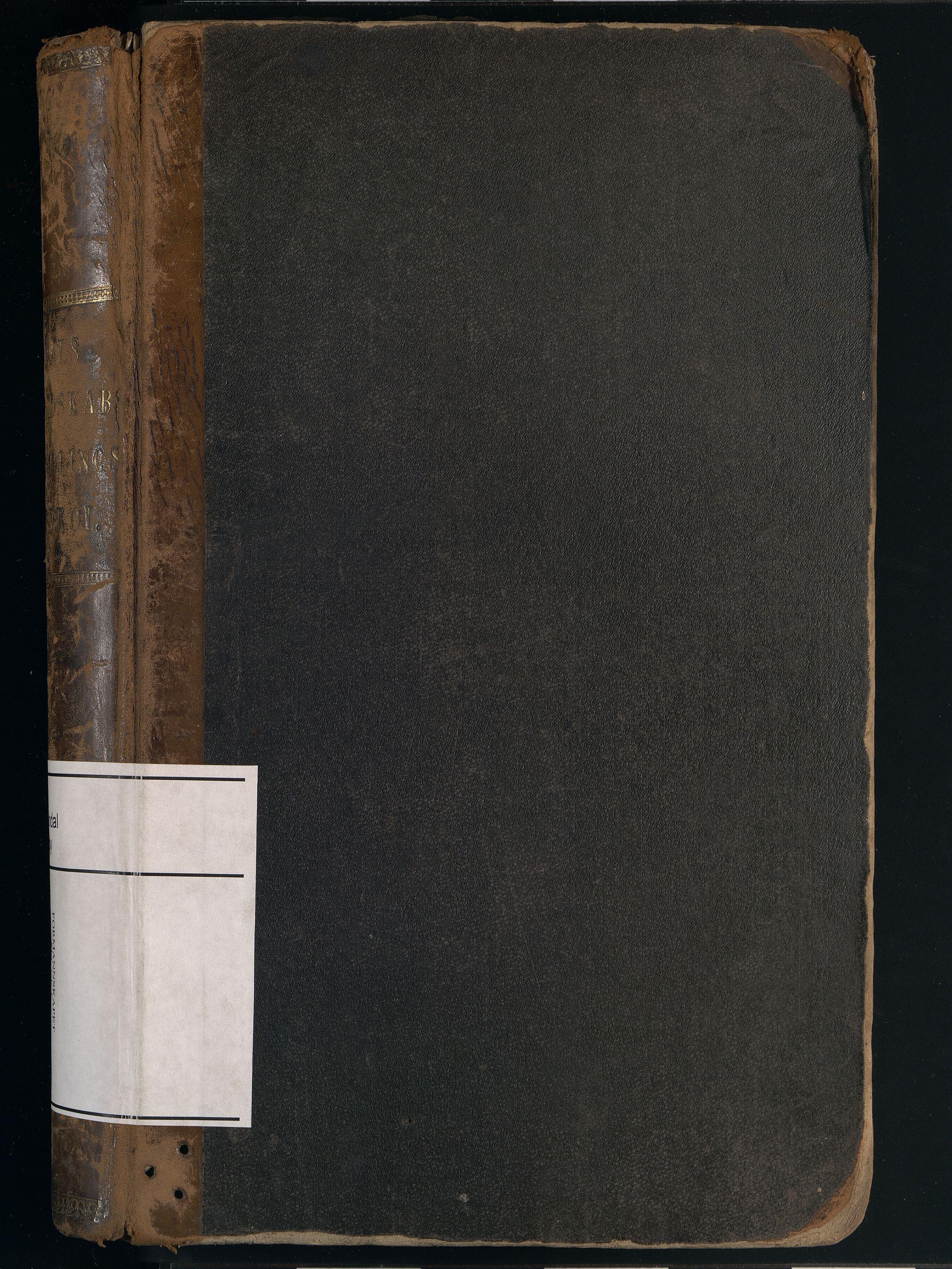 IKAV, Mandal By - Formannskapet, A/L0004: Møtebok, 1876-1890