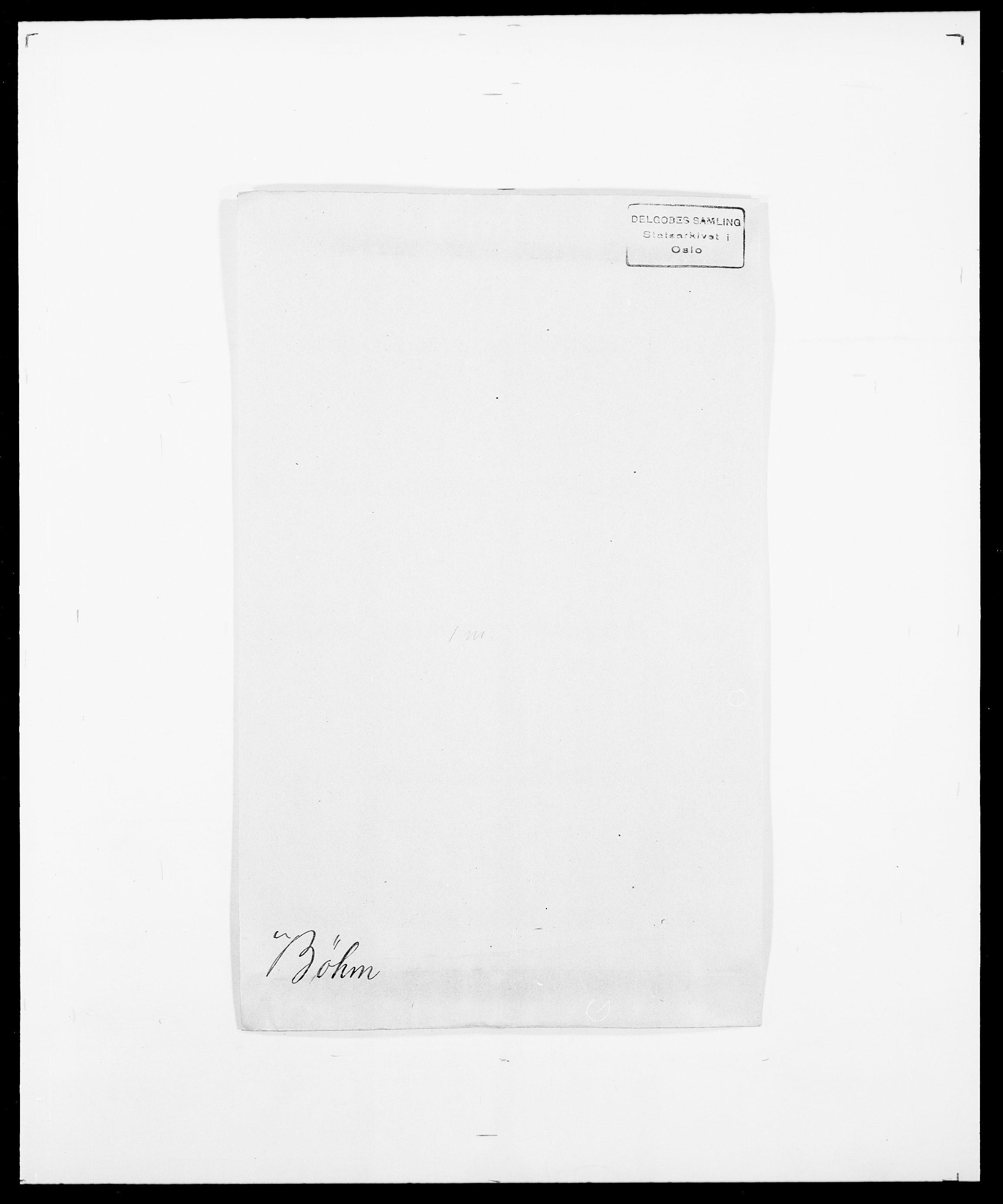 SAO, Delgobe, Charles Antoine - samling, D/Da/L0007: Buaas - Caphengst, s. 720