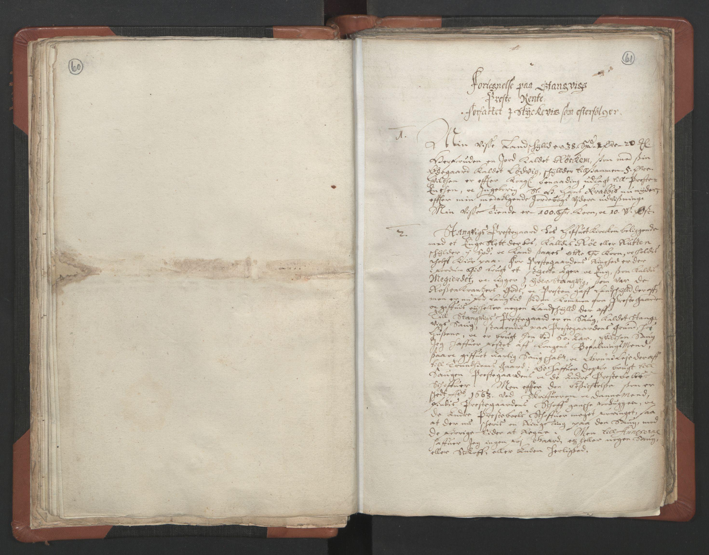 RA, Sogneprestenes manntall 1664-1666, nr. 29: Nordmøre prosti, 1664-1666, s. 60-61