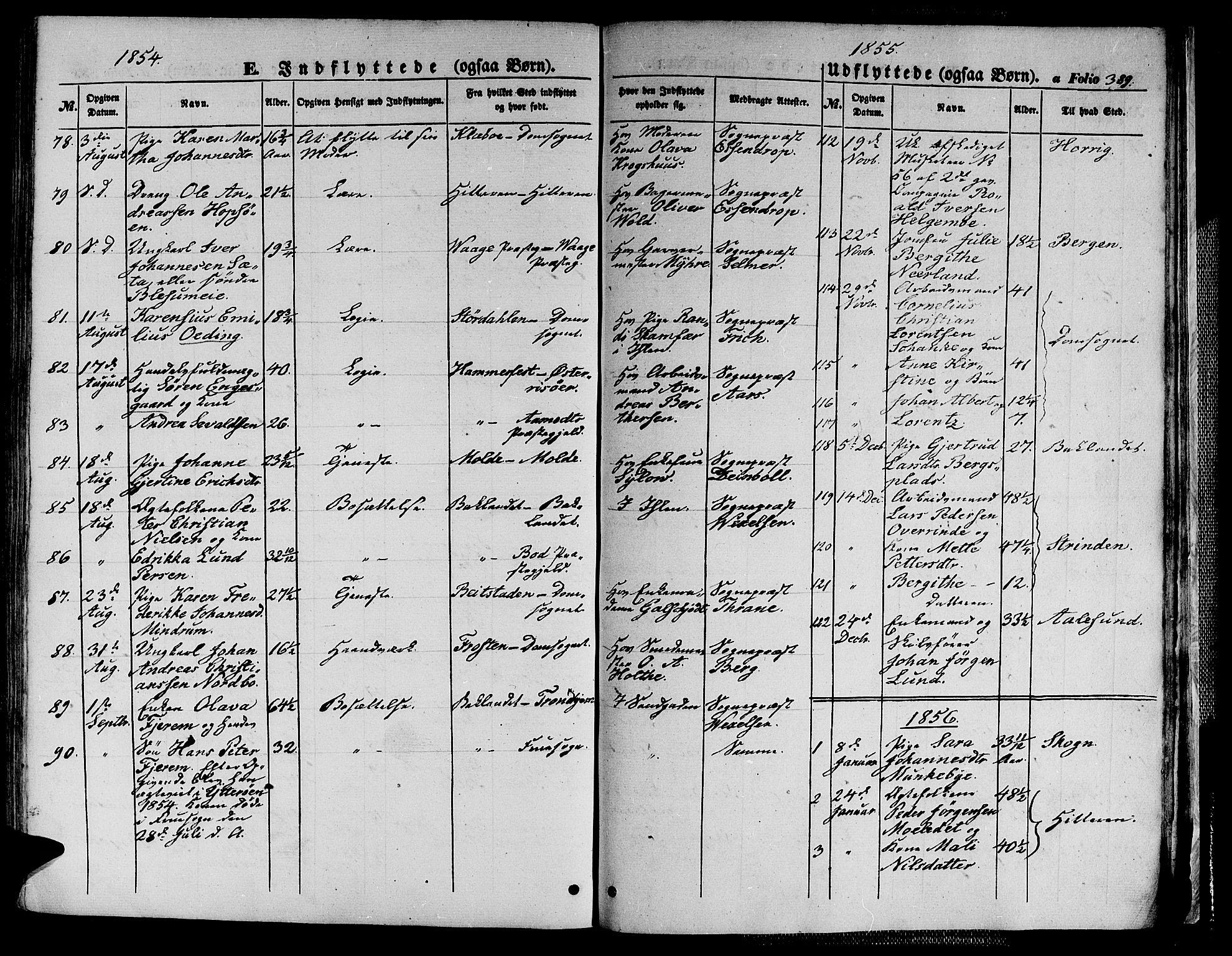 SAT, Ministerialprotokoller, klokkerbøker og fødselsregistre - Sør-Trøndelag, 602/L0137: Klokkerbok nr. 602C05, 1846-1856, s. 389