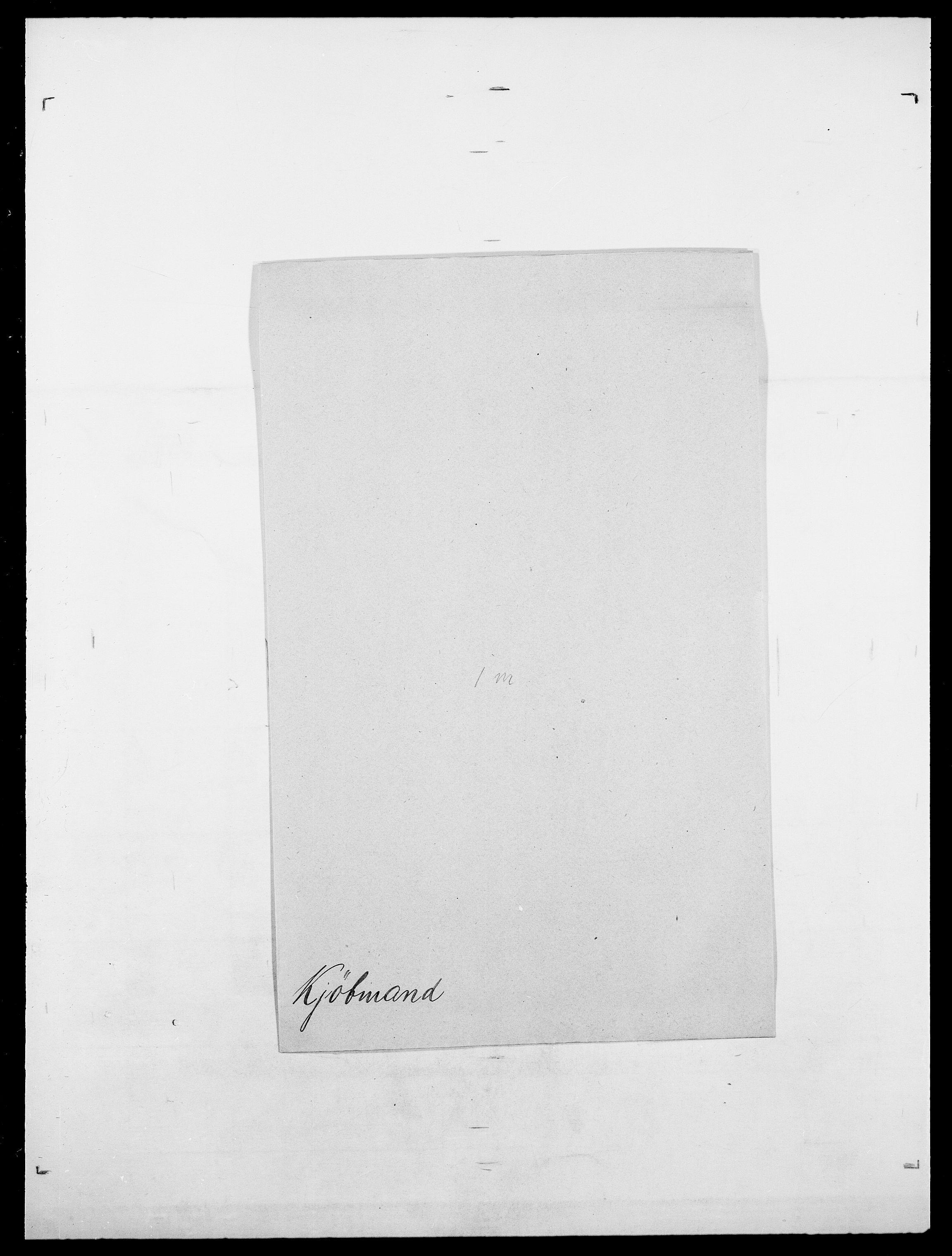 SAO, Delgobe, Charles Antoine - samling, D/Da/L0020: Irgens - Kjøsterud, s. 829