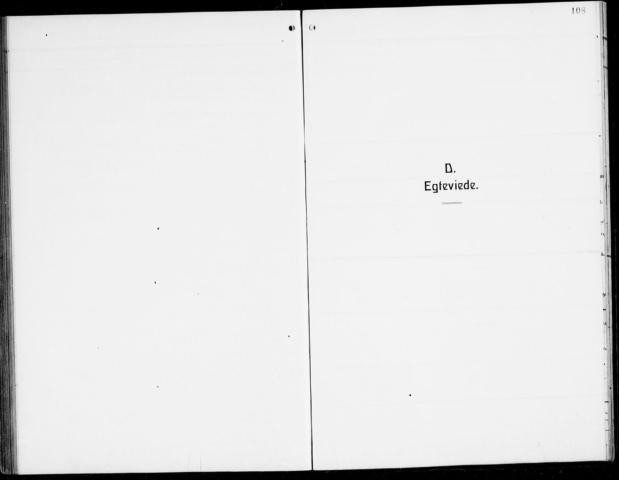 SAB, Sogndal Sokneprestembete, H/Hab/Habc/L0003: Klokkerbok nr. C 3, 1911-1942, s. 108