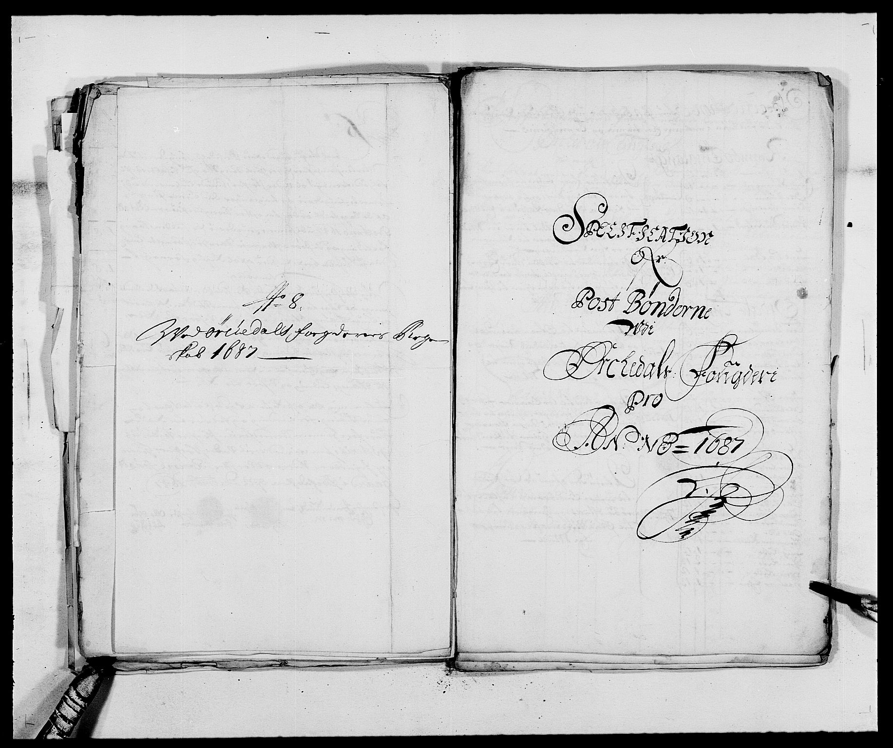 RA, Rentekammeret inntil 1814, Reviderte regnskaper, Fogderegnskap, R58/L3935: Fogderegnskap Orkdal, 1687-1688, s. 171
