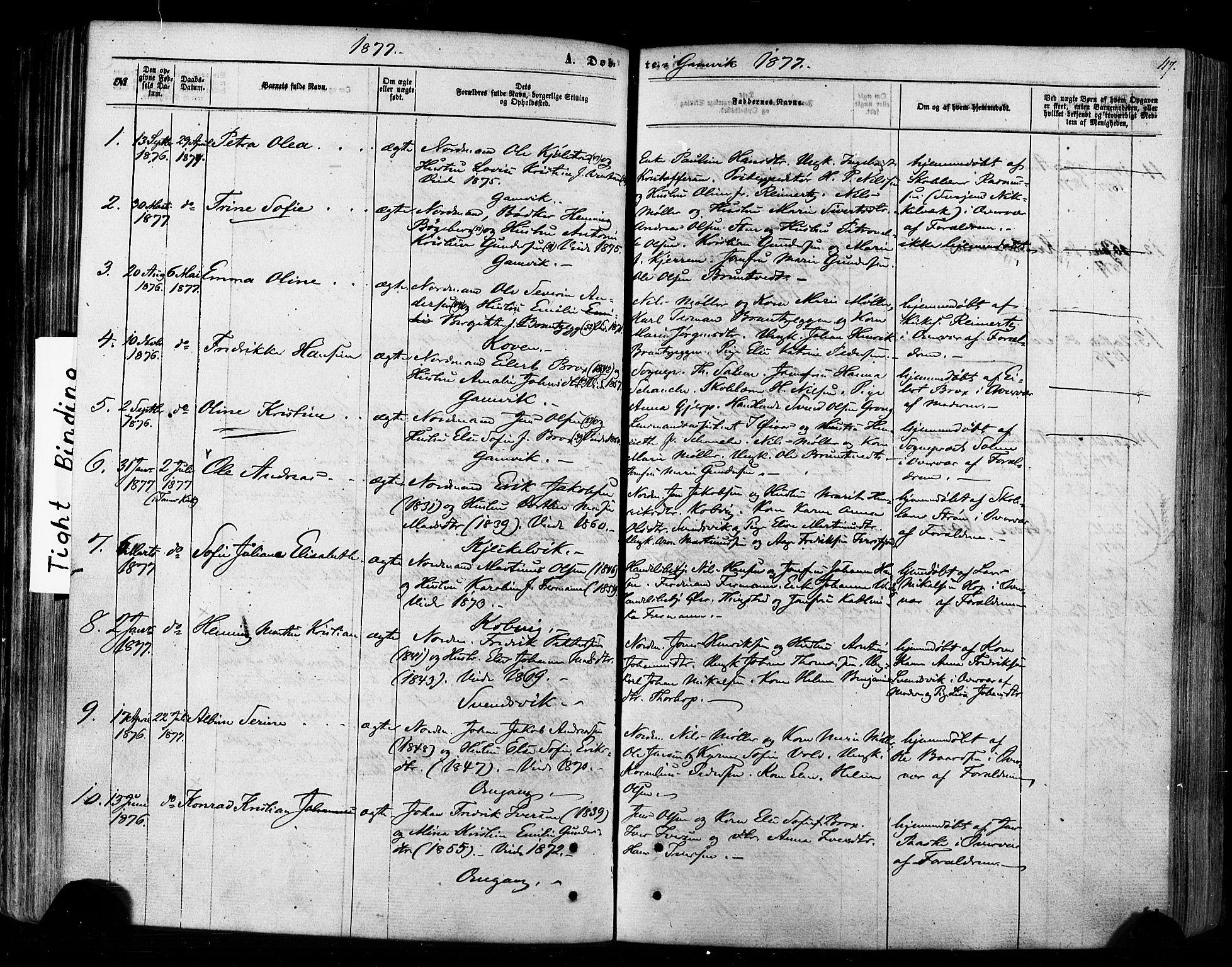 SATØ, Tana sokneprestkontor, H/Ha/L0002kirke: Ministerialbok nr. 2 /2, 1862-1877, s. 117