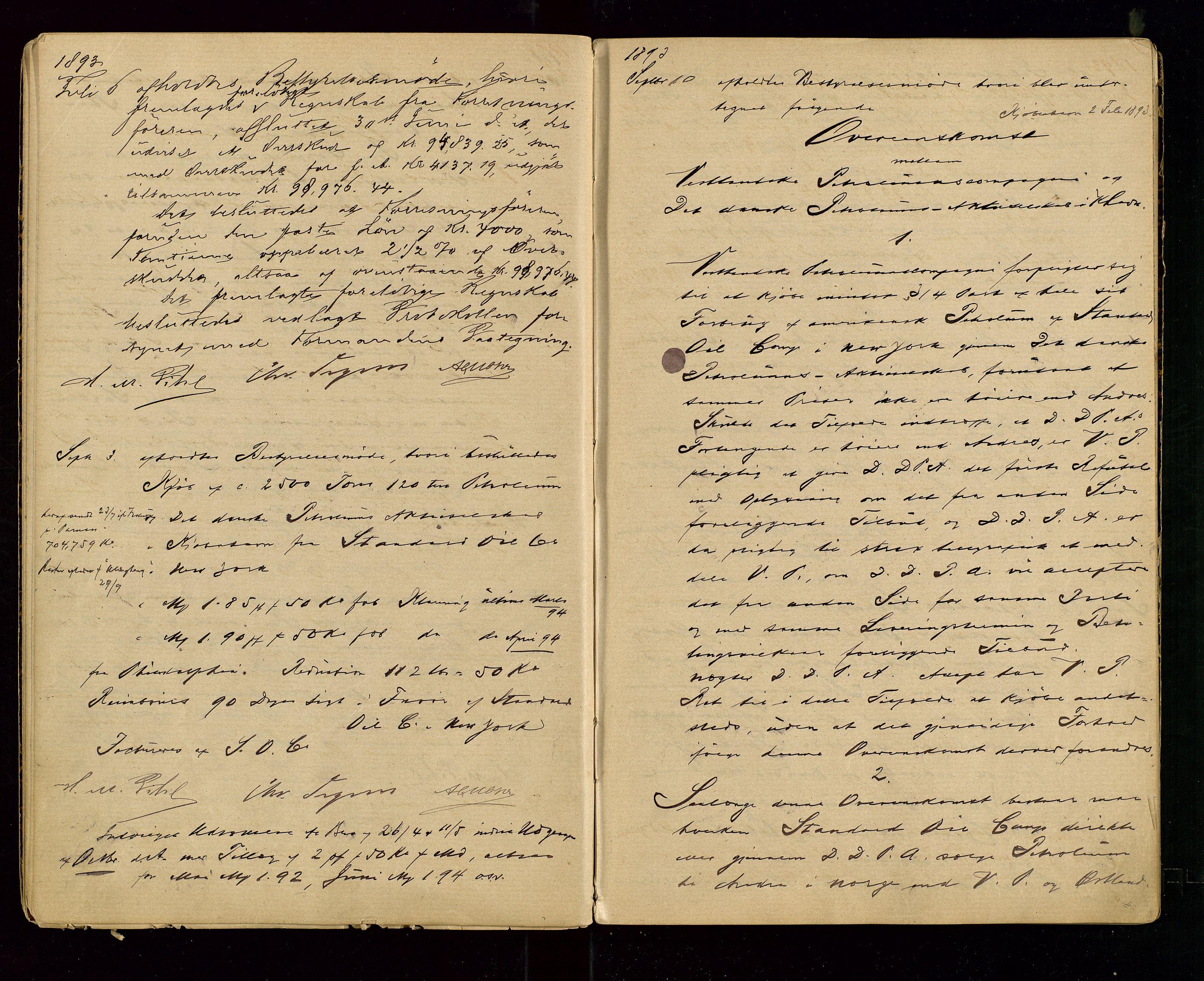 SAST, PA 1533 - A/S Vestlandske Petroleumscompani, A/Aa/L0001: Generalforsamlinger og styreprotokoller, 1890-1907, s. 15