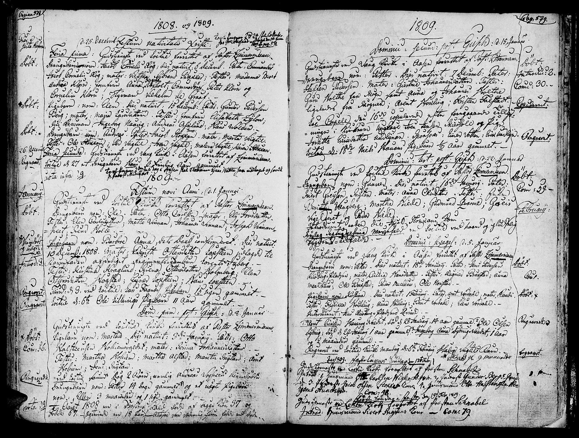 SAT, Ministerialprotokoller, klokkerbøker og fødselsregistre - Nord-Trøndelag, 713/L0110: Ministerialbok nr. 713A02, 1778-1811, s. 528-529