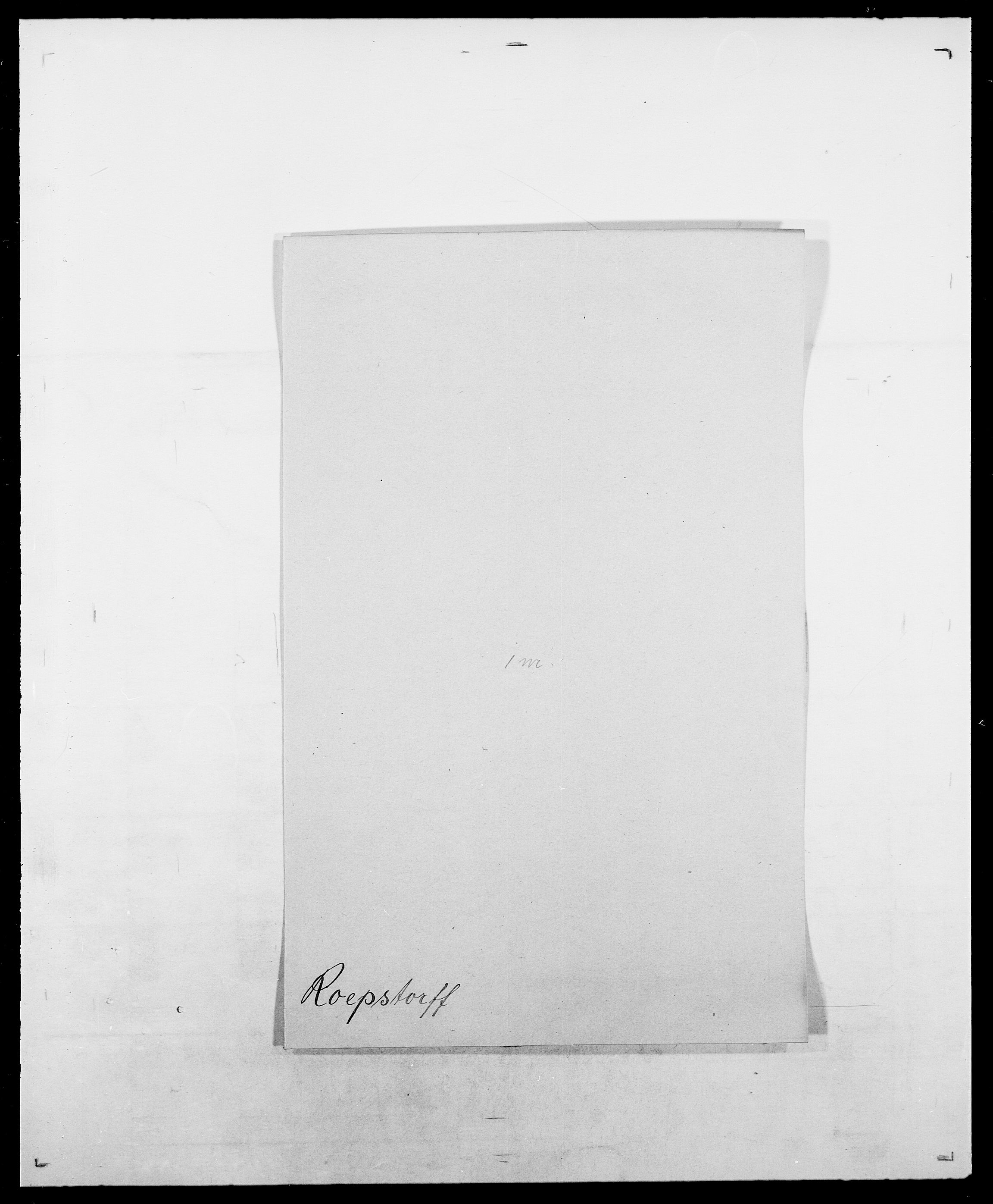 SAO, Delgobe, Charles Antoine - samling, D/Da/L0033: Roald - Røyem, s. 66