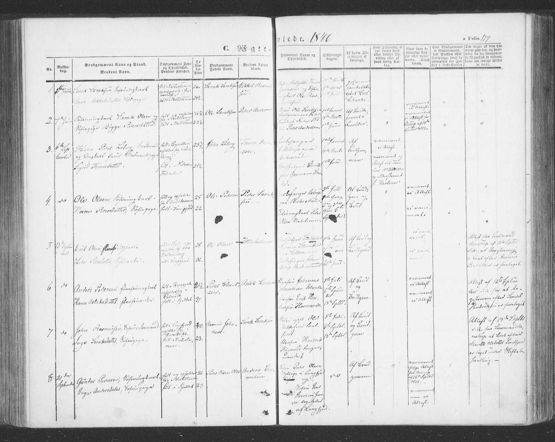 SATØ, Tana sokneprestkontor, H/Ha/L0001kirke: Ministerialbok nr. 1, 1846-1861, s. 179