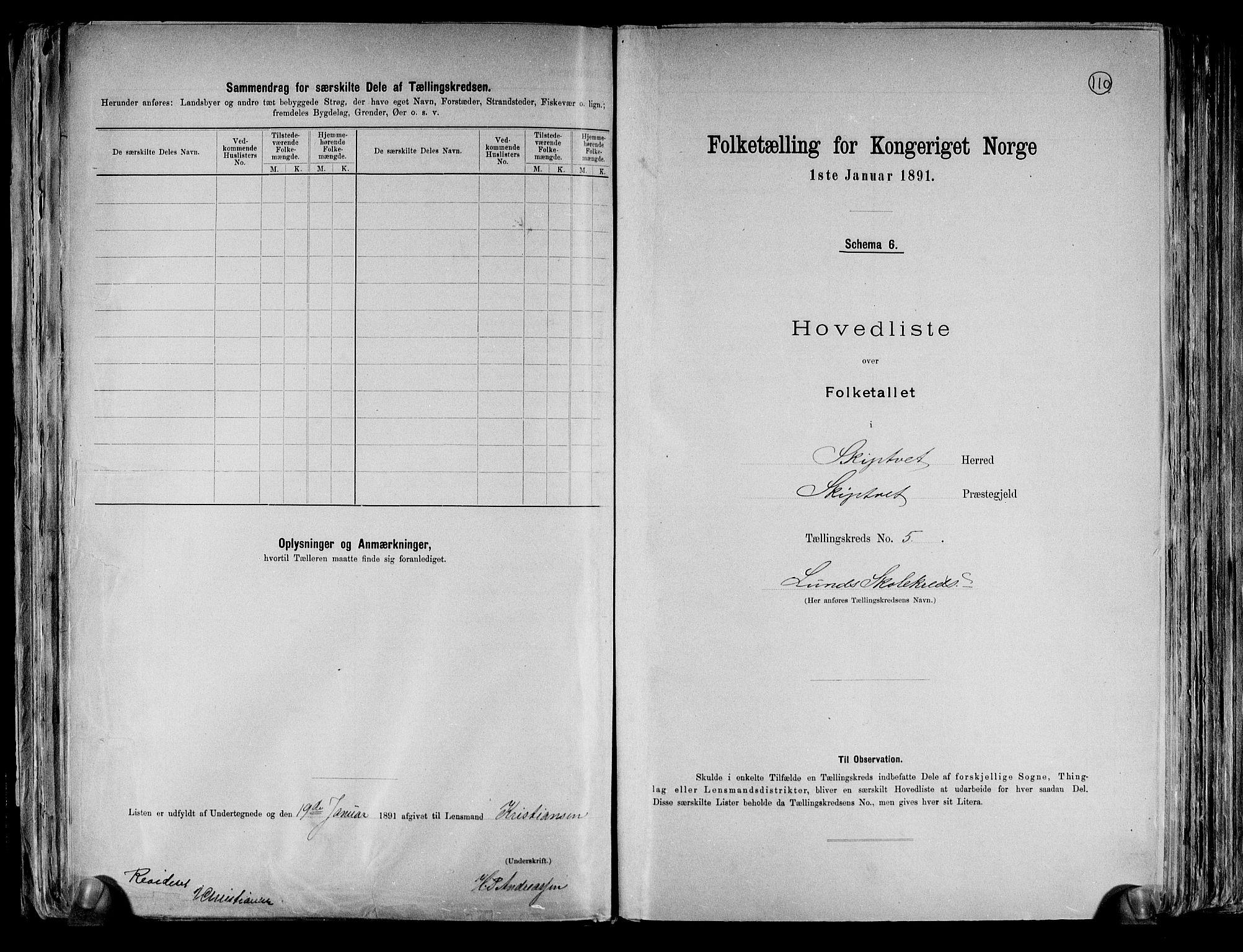 RA, Folketelling 1891 for 0127 Skiptvet herred, 1891, s. 16