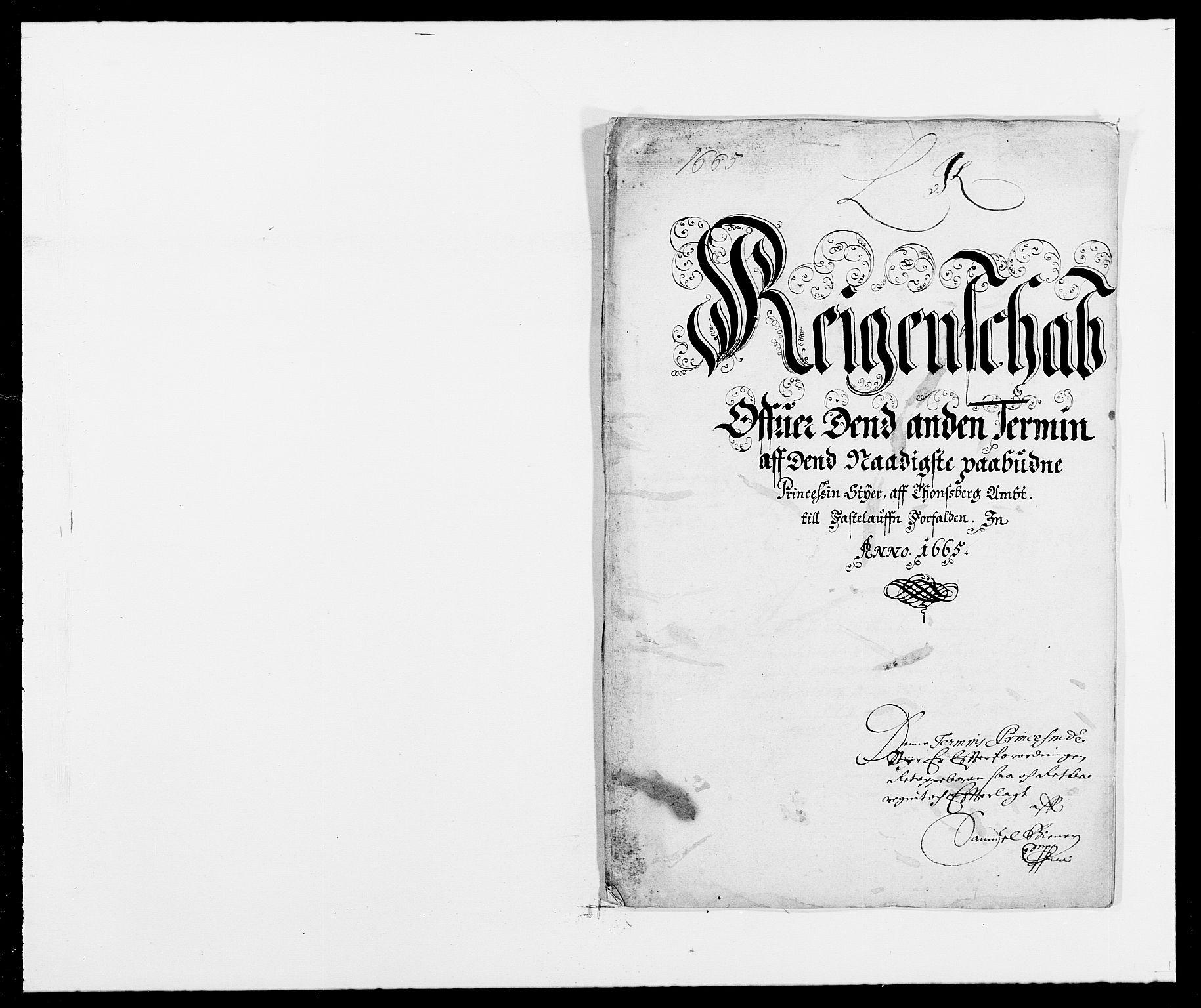 RA, Rentekammeret inntil 1814, Reviderte regnskaper, Fogderegnskap, R32/L1839: Fogderegnskap Jarlsberg grevskap, 1664-1673, s. 338
