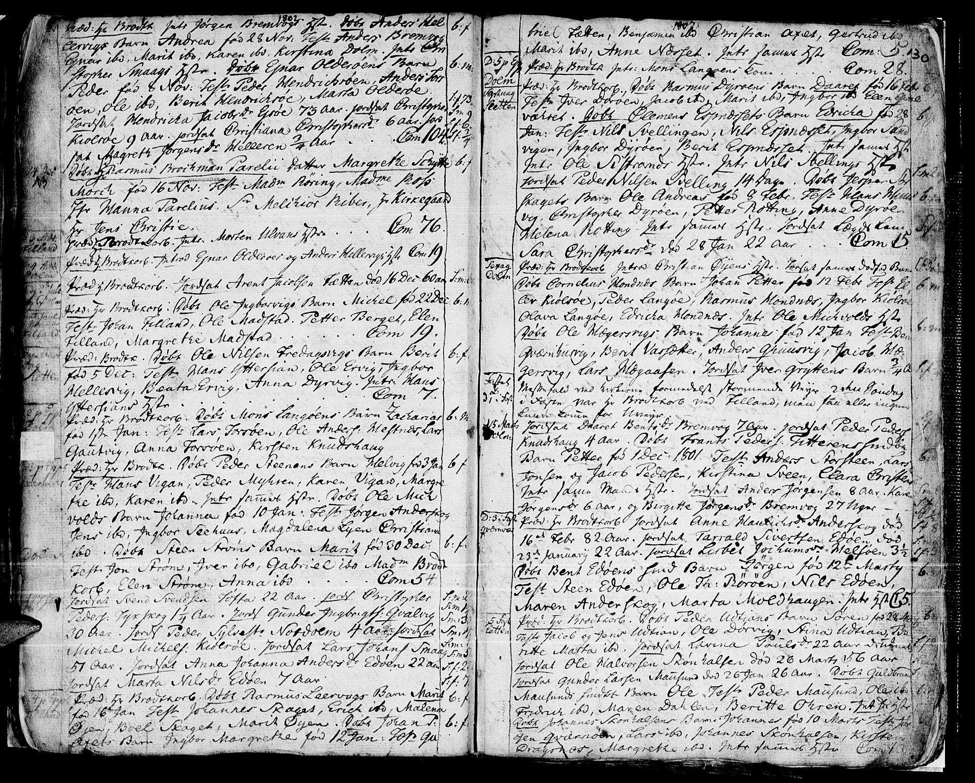 SAT, Ministerialprotokoller, klokkerbøker og fødselsregistre - Sør-Trøndelag, 634/L0526: Ministerialbok nr. 634A02, 1775-1818, s. 130