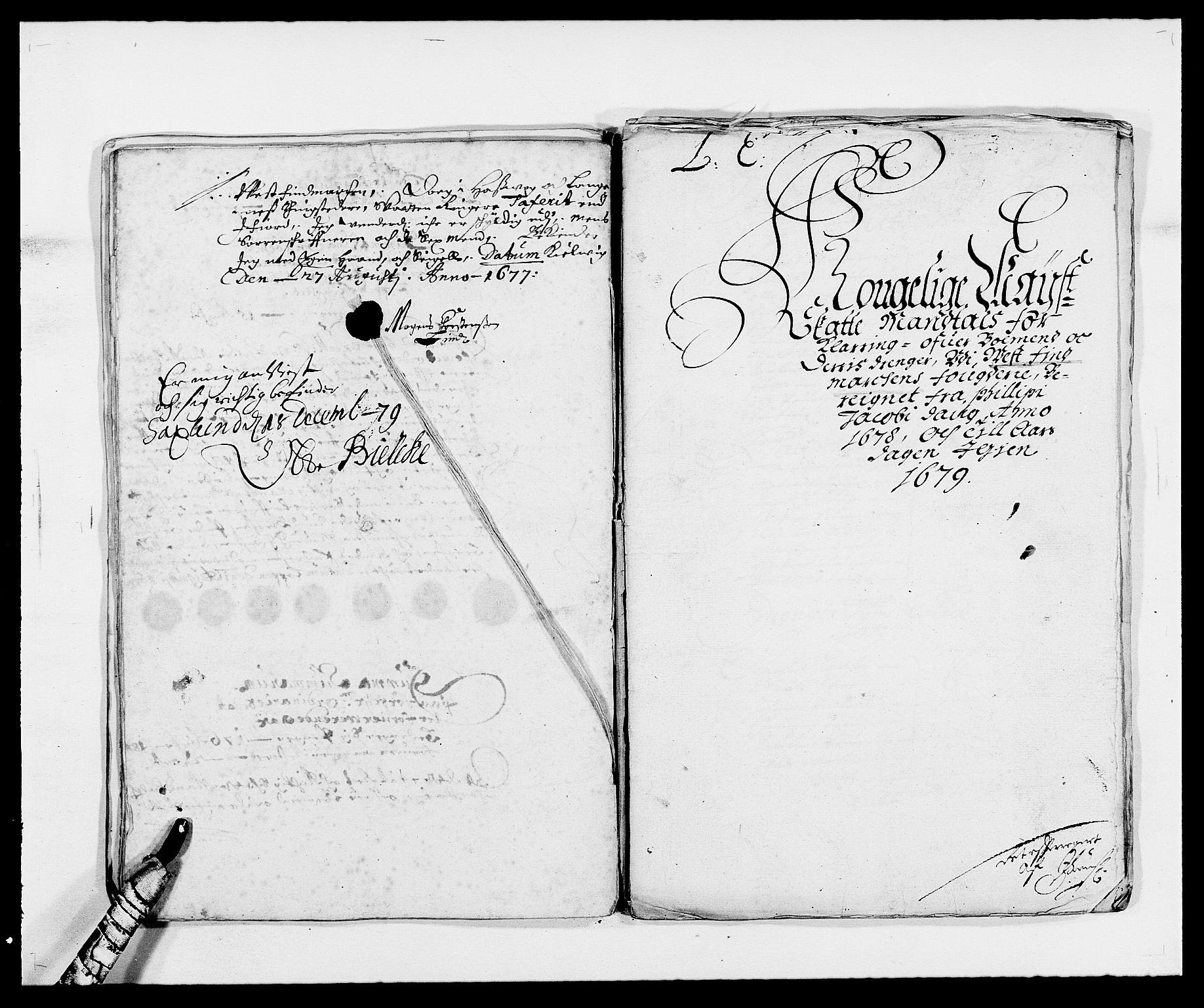 RA, Rentekammeret inntil 1814, Reviderte regnskaper, Fogderegnskap, R69/L4849: Fogderegnskap Finnmark/Vardøhus, 1661-1679, s. 429