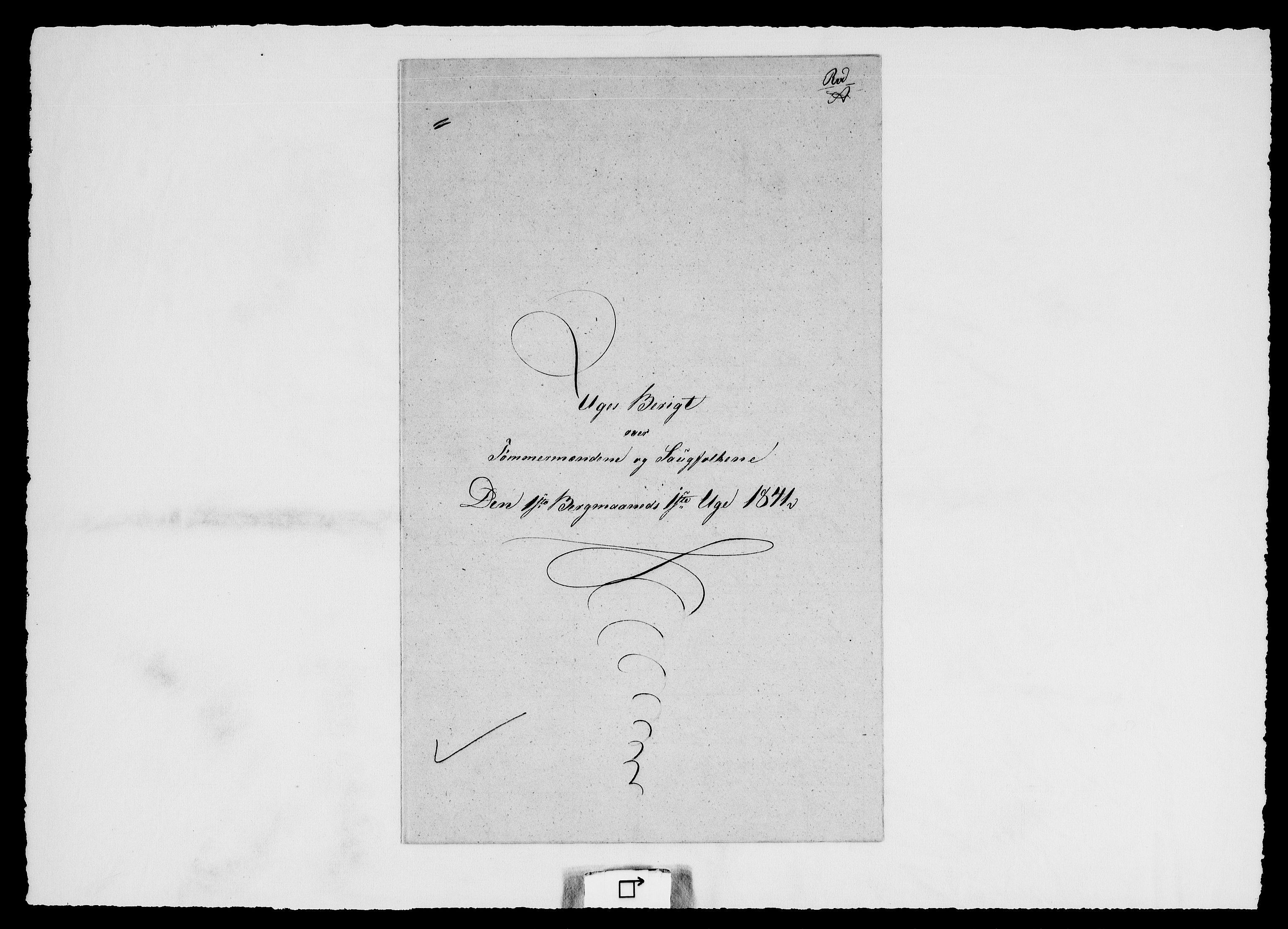 RA, Modums Blaafarveværk, G/Ge/L0361, 1841-1848, s. 2