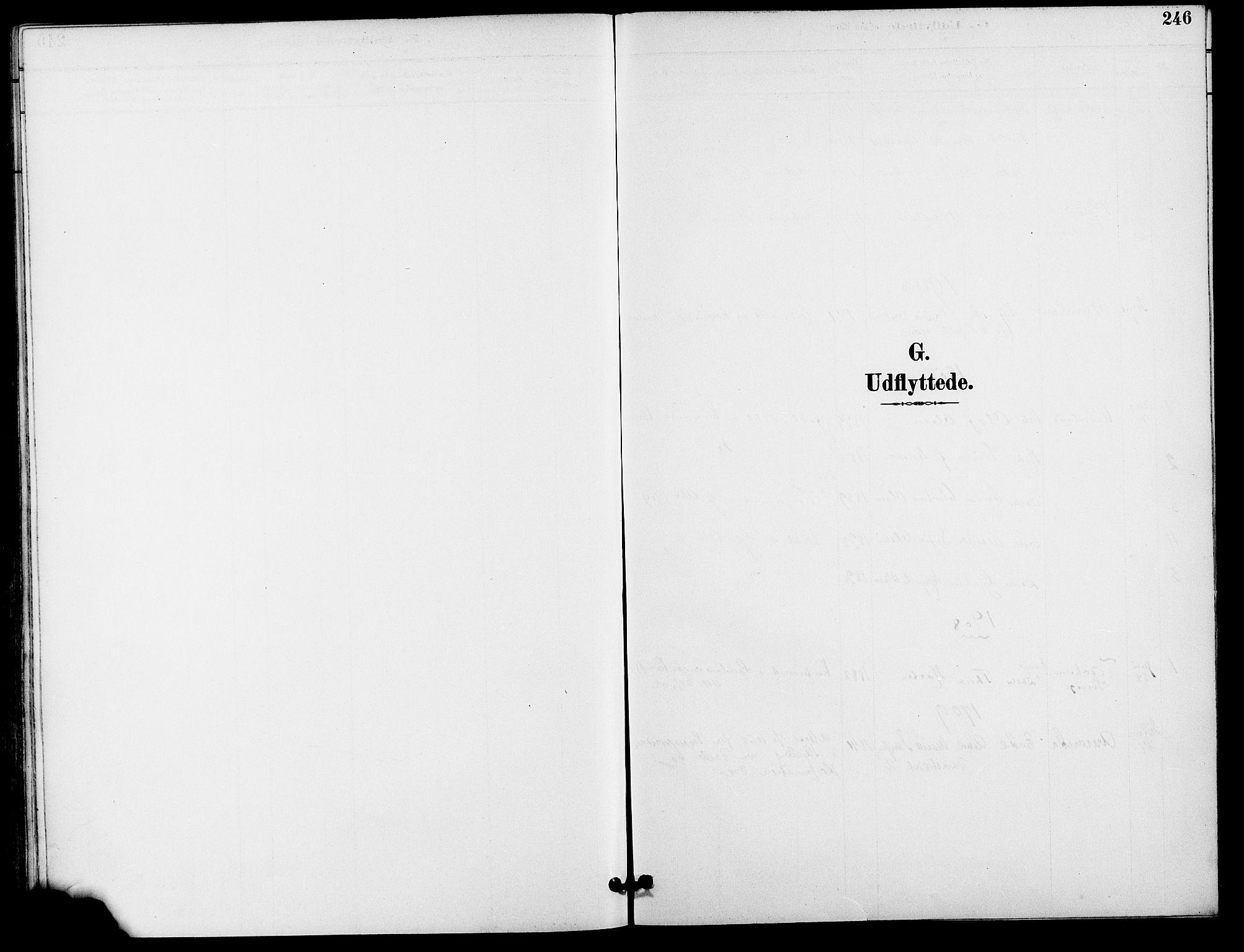 SAO, Gamle Aker prestekontor Kirkebøker, F/L0009: Ministerialbok nr. 9, 1890-1898, s. 246