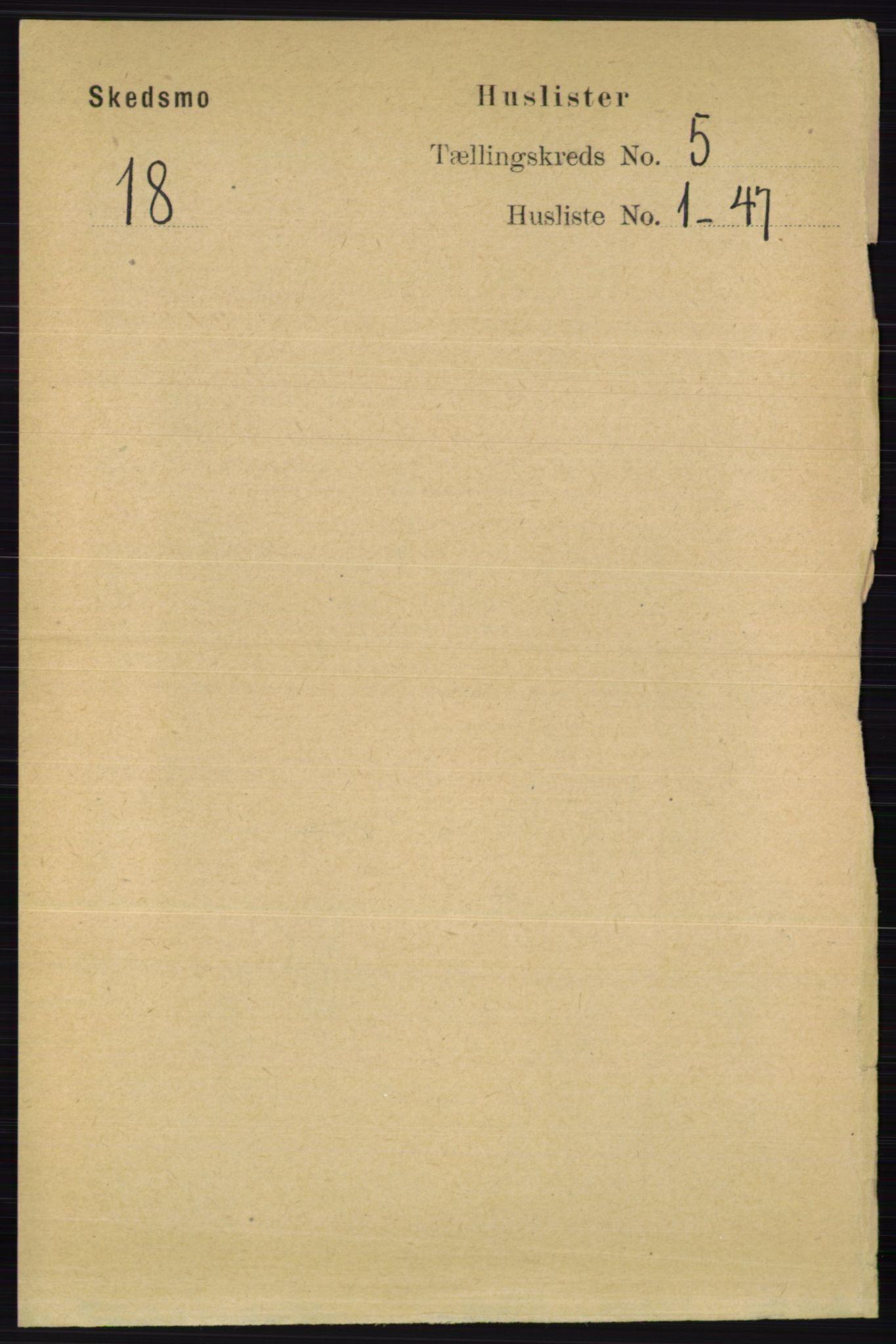 RA, Folketelling 1891 for 0231 Skedsmo herred, 1891, s. 2245