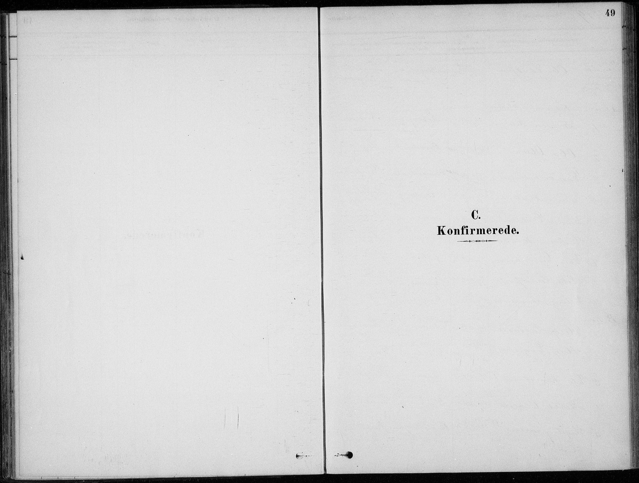 SAKO, Sigdal kirkebøker, F/Fc/L0001: Ministerialbok nr. III 1, 1879-1893, s. 49