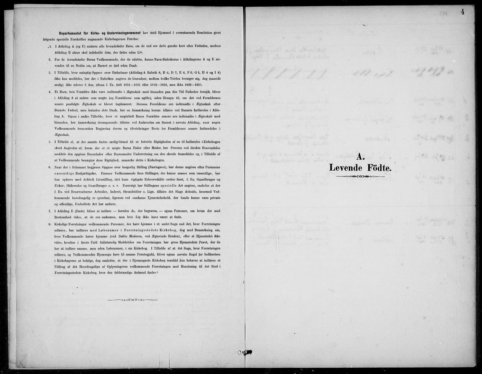 SAB, Den Norske Sjømannsmisjon i utlandet*, Ministerialbok nr. A 2, 1883-1936, s. 4