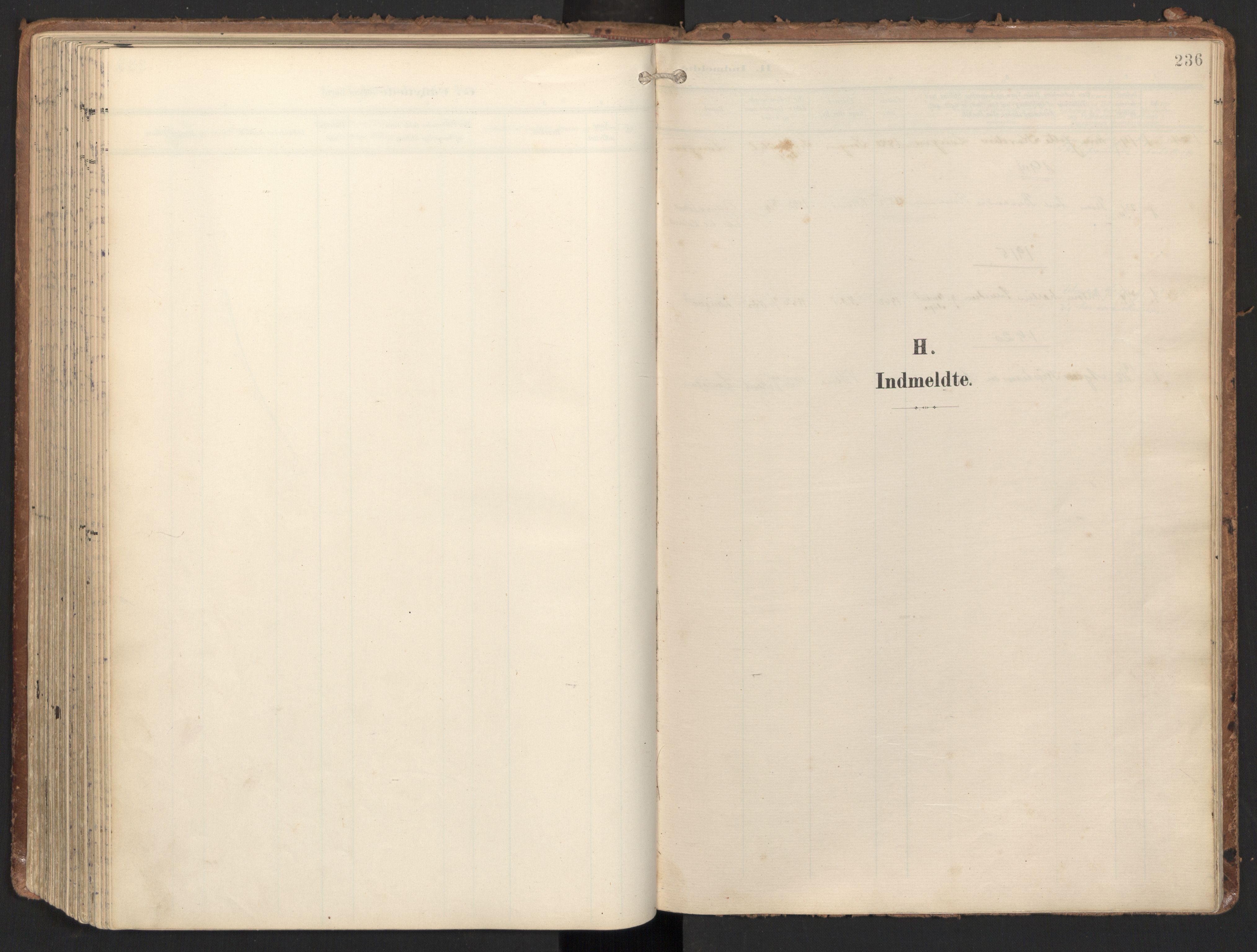 SAT, Ministerialprotokoller, klokkerbøker og fødselsregistre - Nord-Trøndelag, 784/L0677: Ministerialbok nr. 784A12, 1900-1920, s. 236